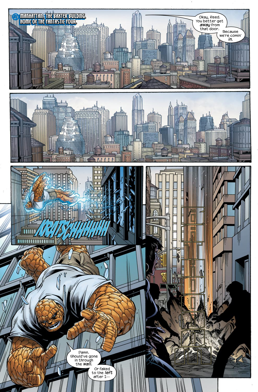 Read online Ultimate Fantastic Four (2004) comic -  Issue #47 - 6