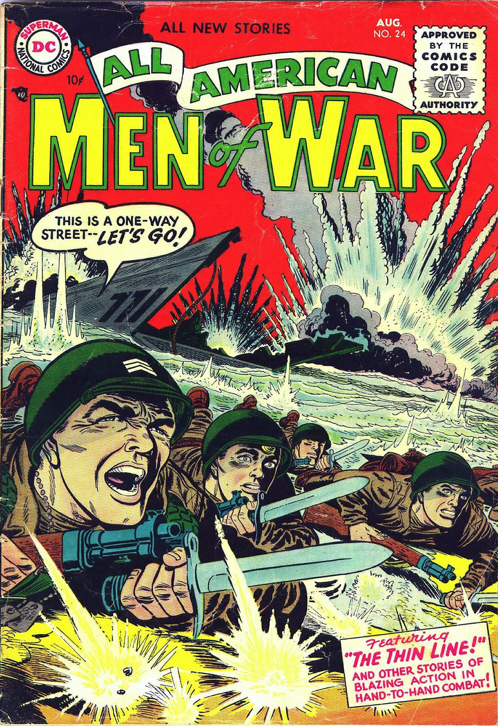 All-American Men of War issue 24 - Page 1