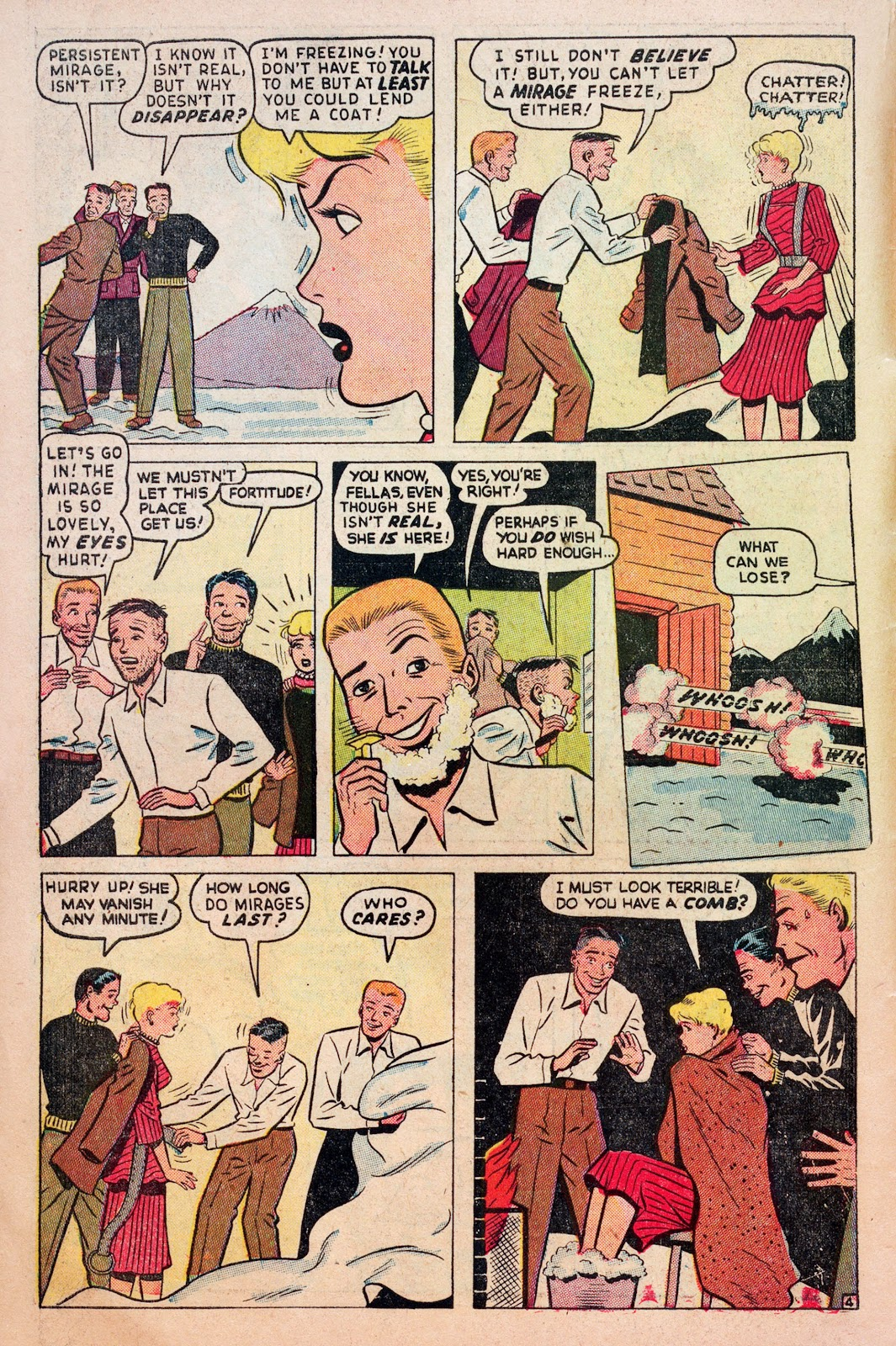 Read online Comedy Comics (1948) comic -  Issue #6 - 6