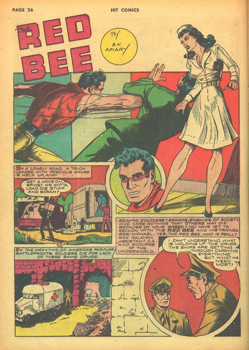 Read online Hit Comics comic -  Issue #24 - 28