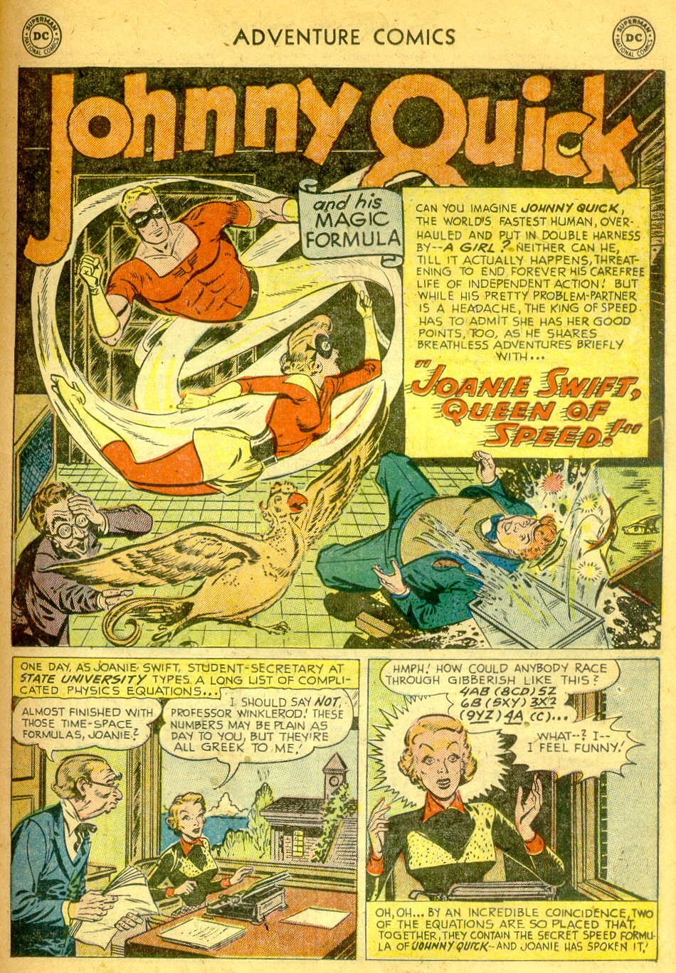 Read online Adventure Comics (1938) comic -  Issue #181 - 24