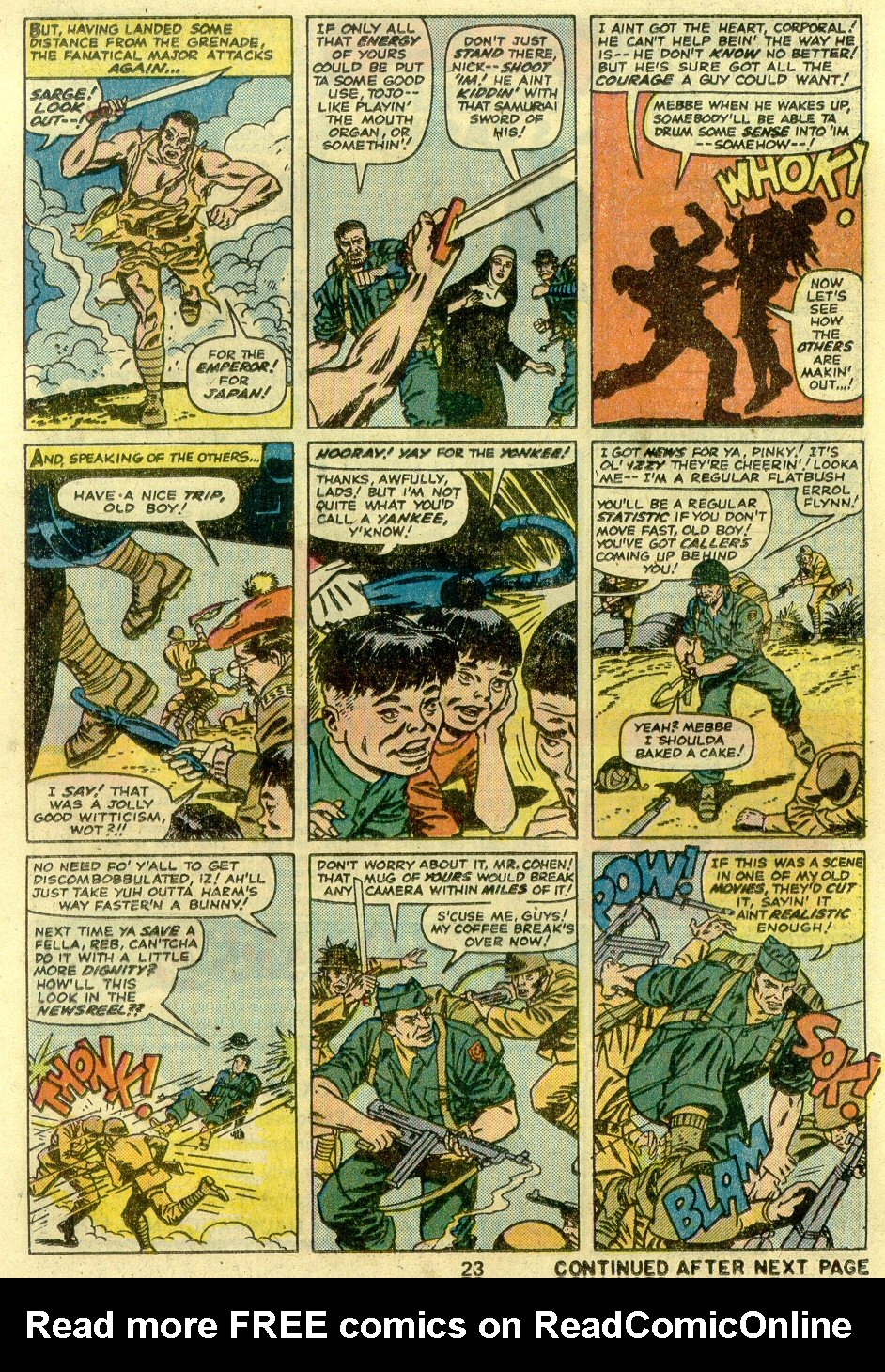 Read online Sgt. Fury comic -  Issue #125 - 25