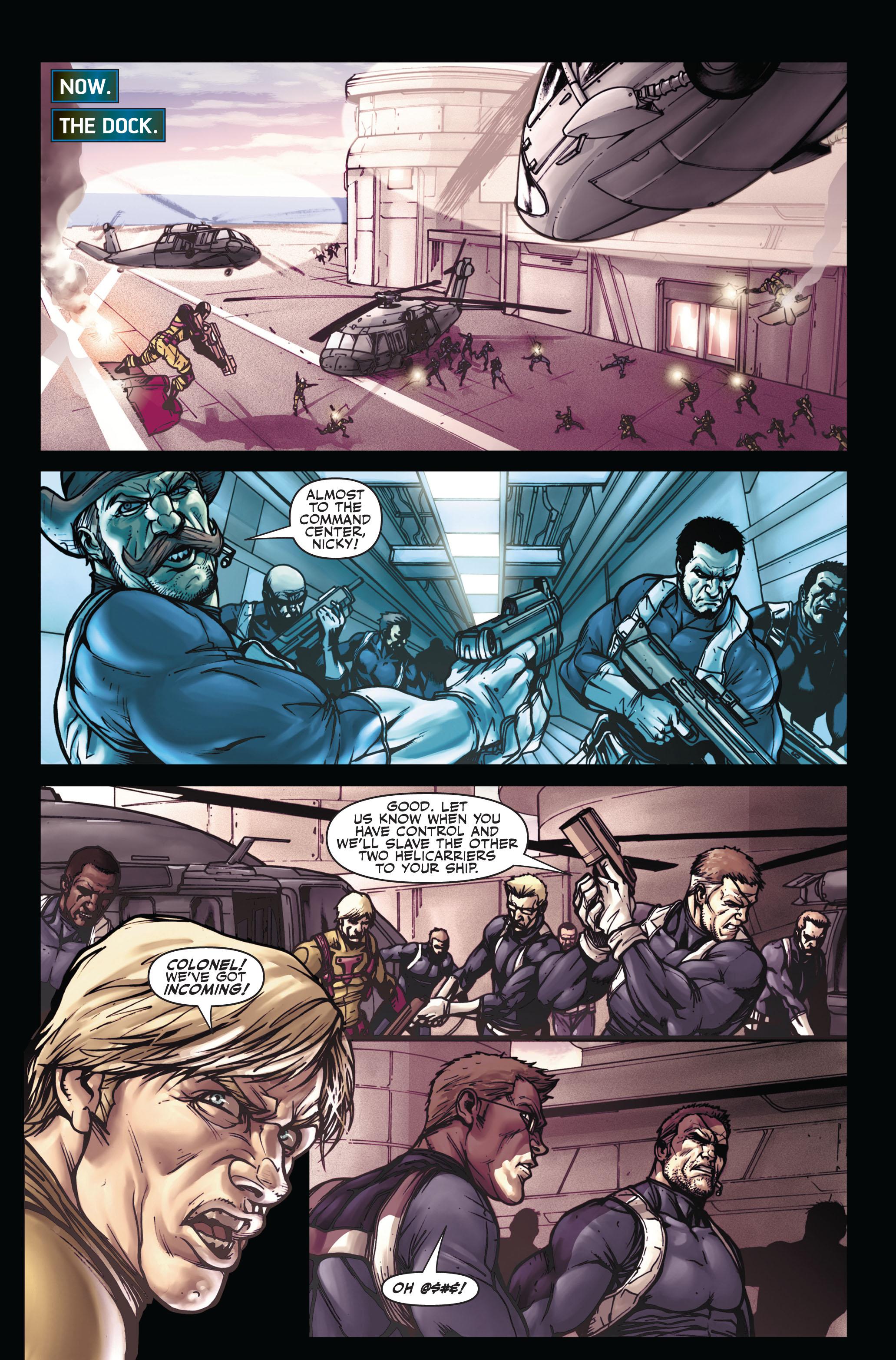 Read online Secret Warriors comic -  Issue #5 - 16