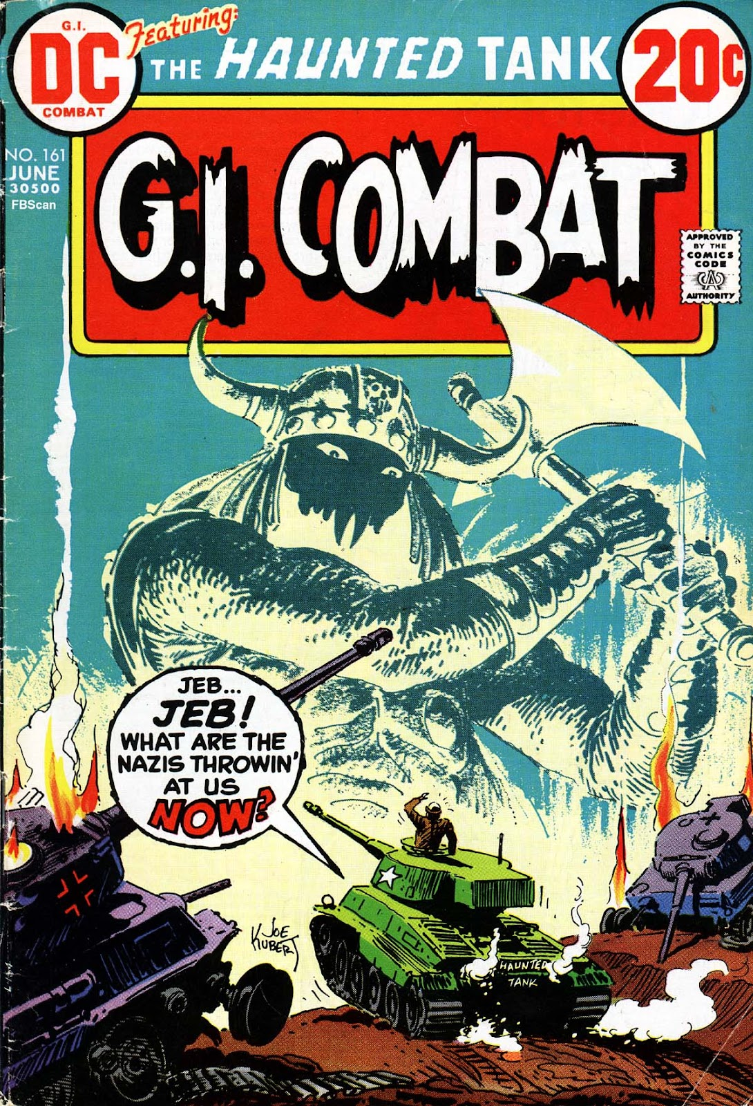 G.I. Combat (1952) issue 161 - Page 1