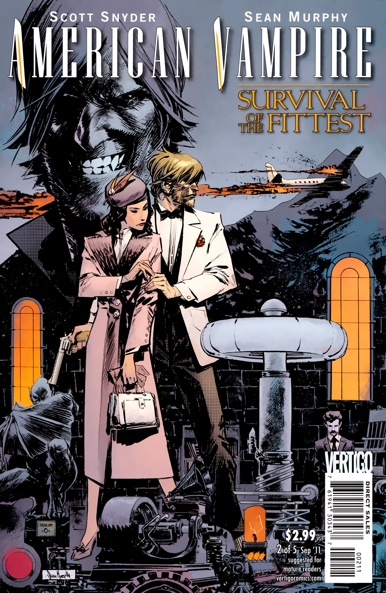 Read online American Vampire: Survival of the Fittest comic -  Issue #2 - 1