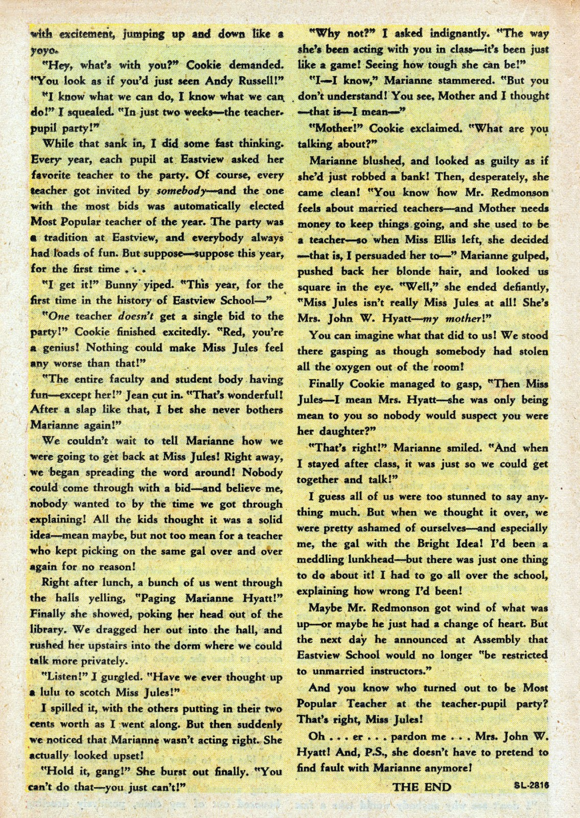Read online Comedy Comics (1948) comic -  Issue #3 - 22