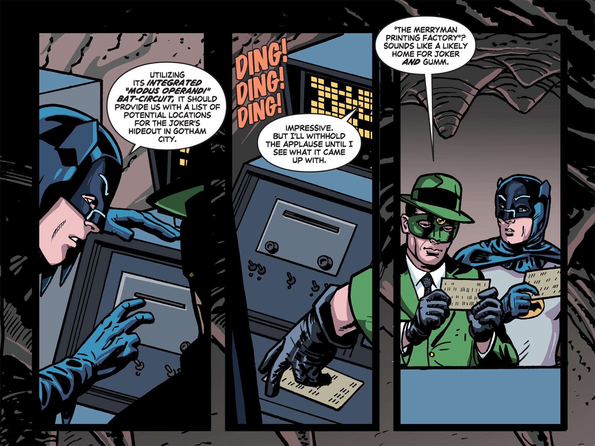 Read online Batman '66 Meets the Green Hornet [II] comic -  Issue #5 - 61