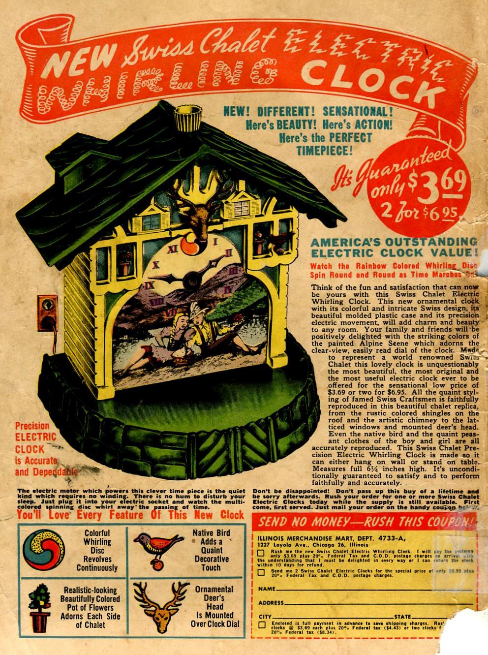 Read online Shadow Comics comic -  Issue #96 - 52