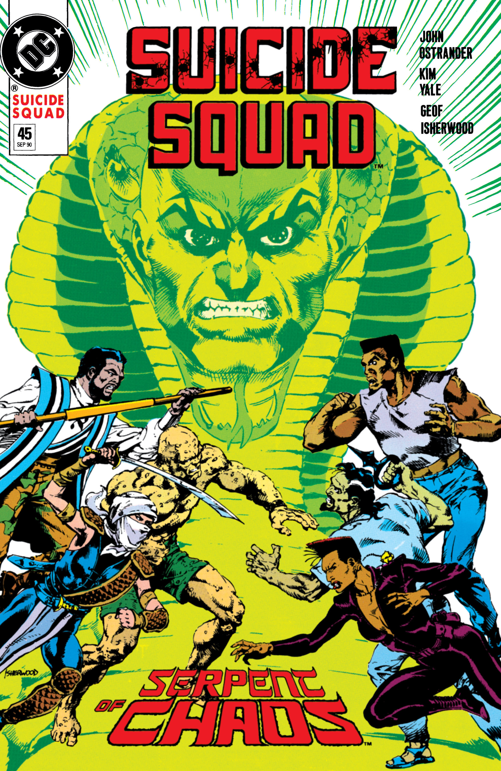 Suicide Squad (1987) issue 45 - Page 1