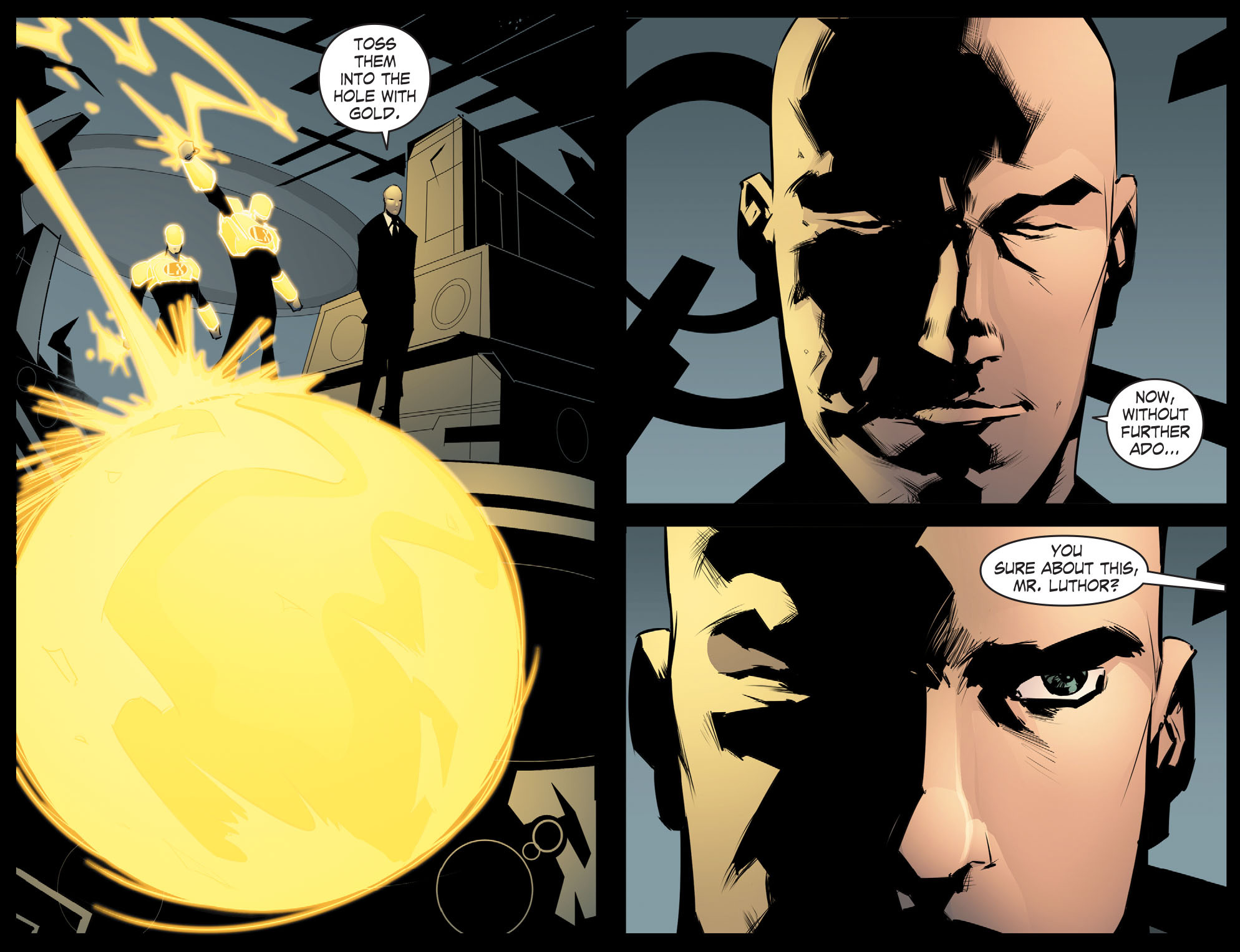 Read online Smallville: Chaos [II] comic -  Issue #8 - 10