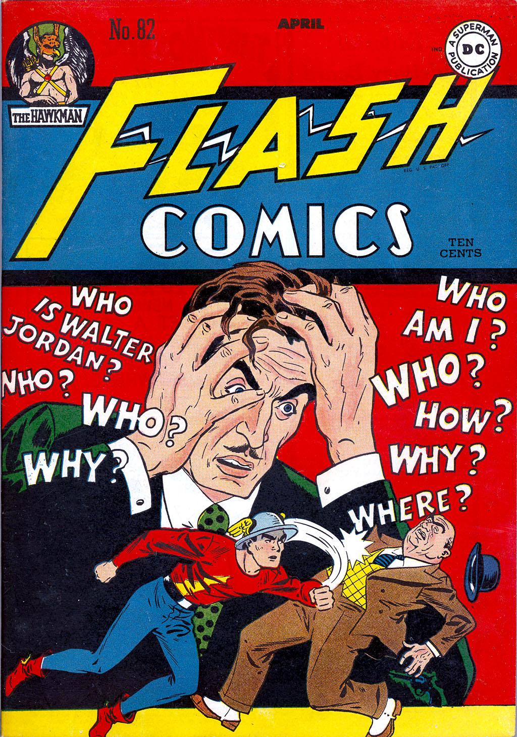 Flash Comics 82 Page 1