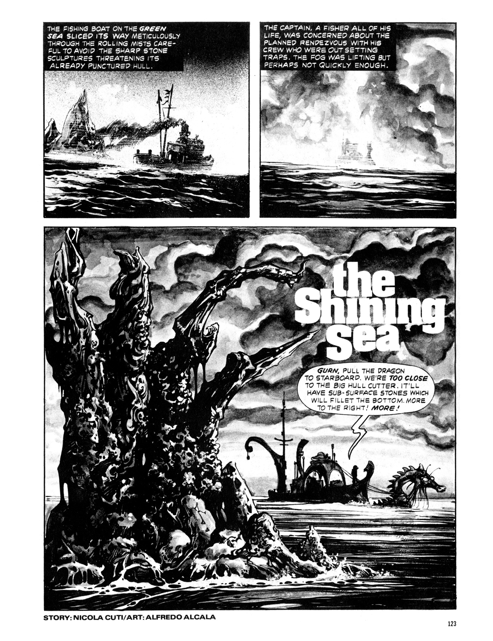 Read online Eerie Archives comic -  Issue # TPB 20 - 123