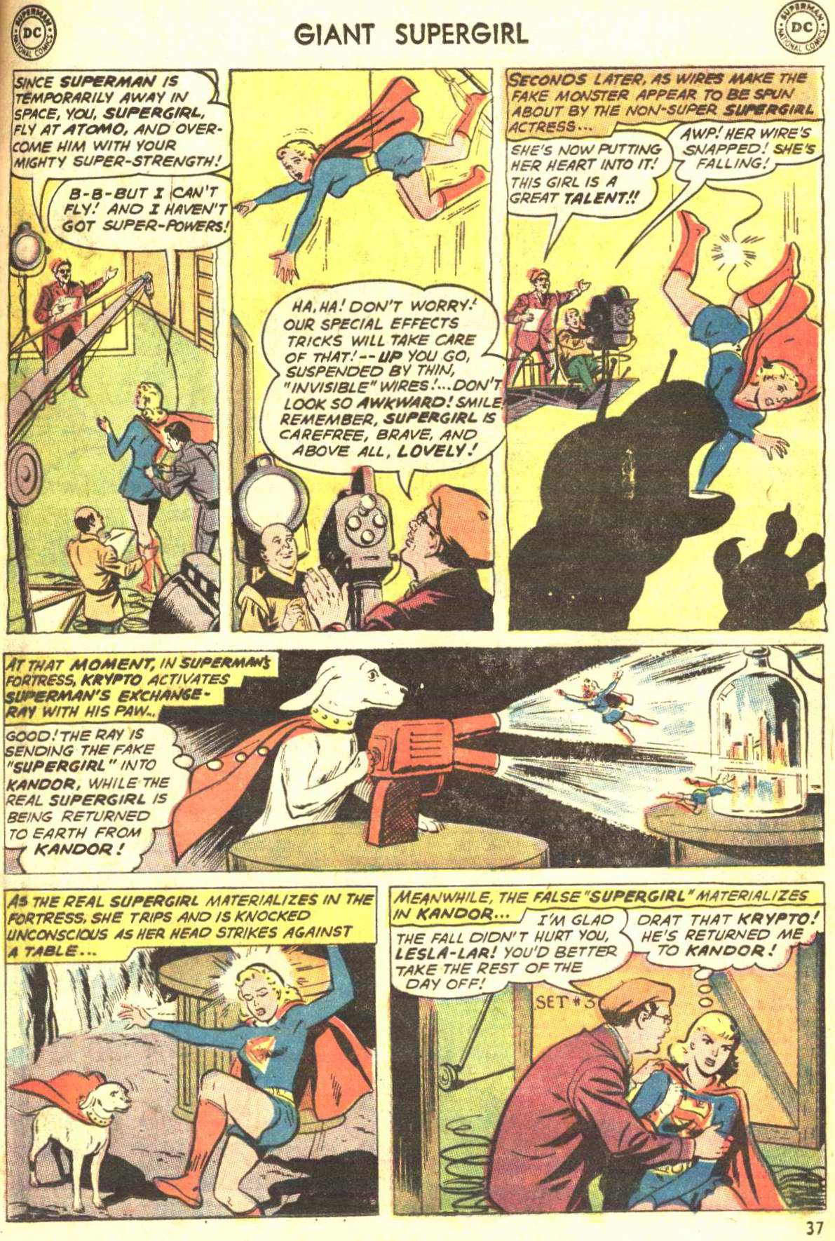Read online Action Comics (1938) comic -  Issue #360 - 36