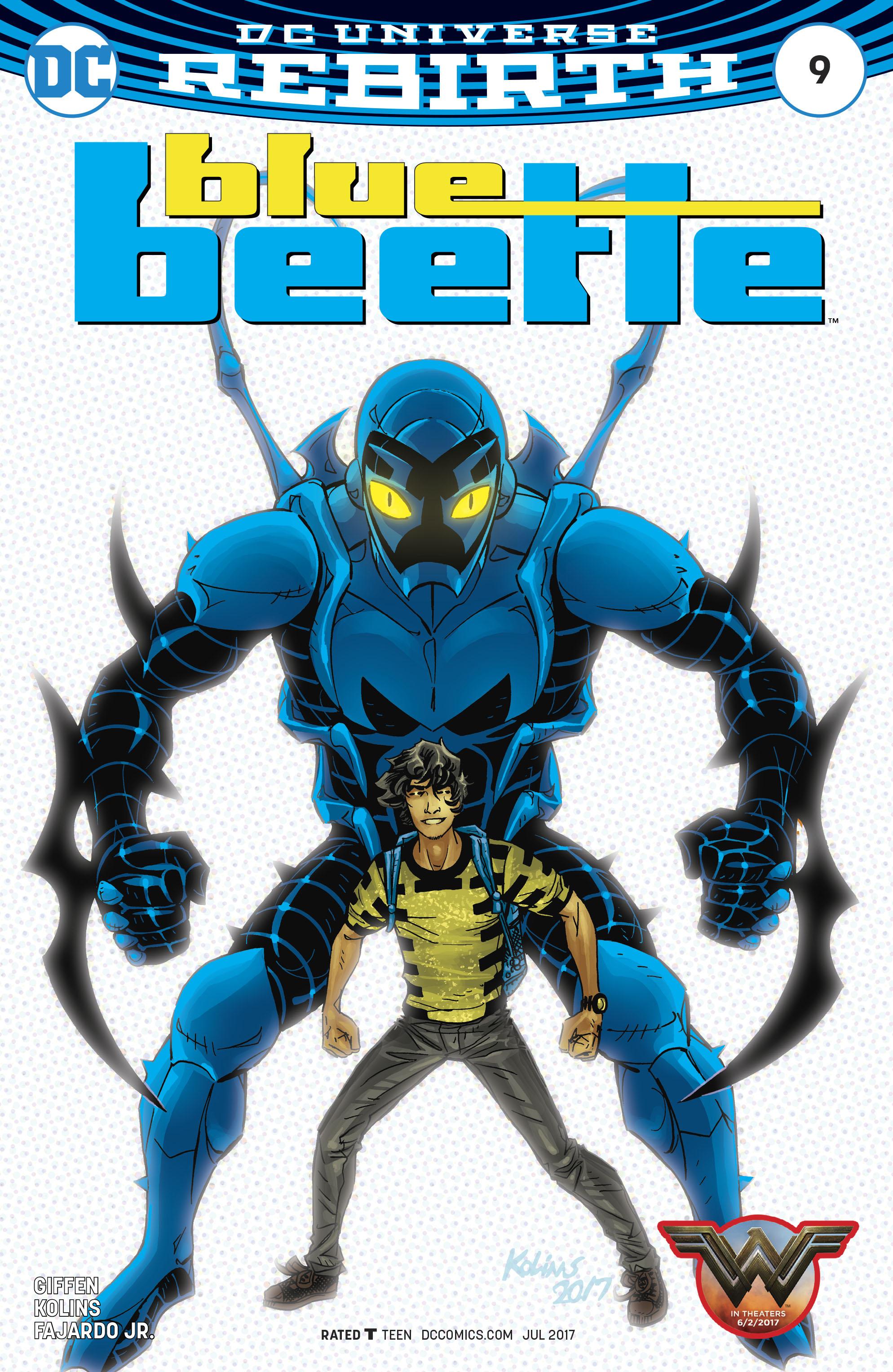 Read online Blue Beetle (2016) comic -  Issue #9 - 1