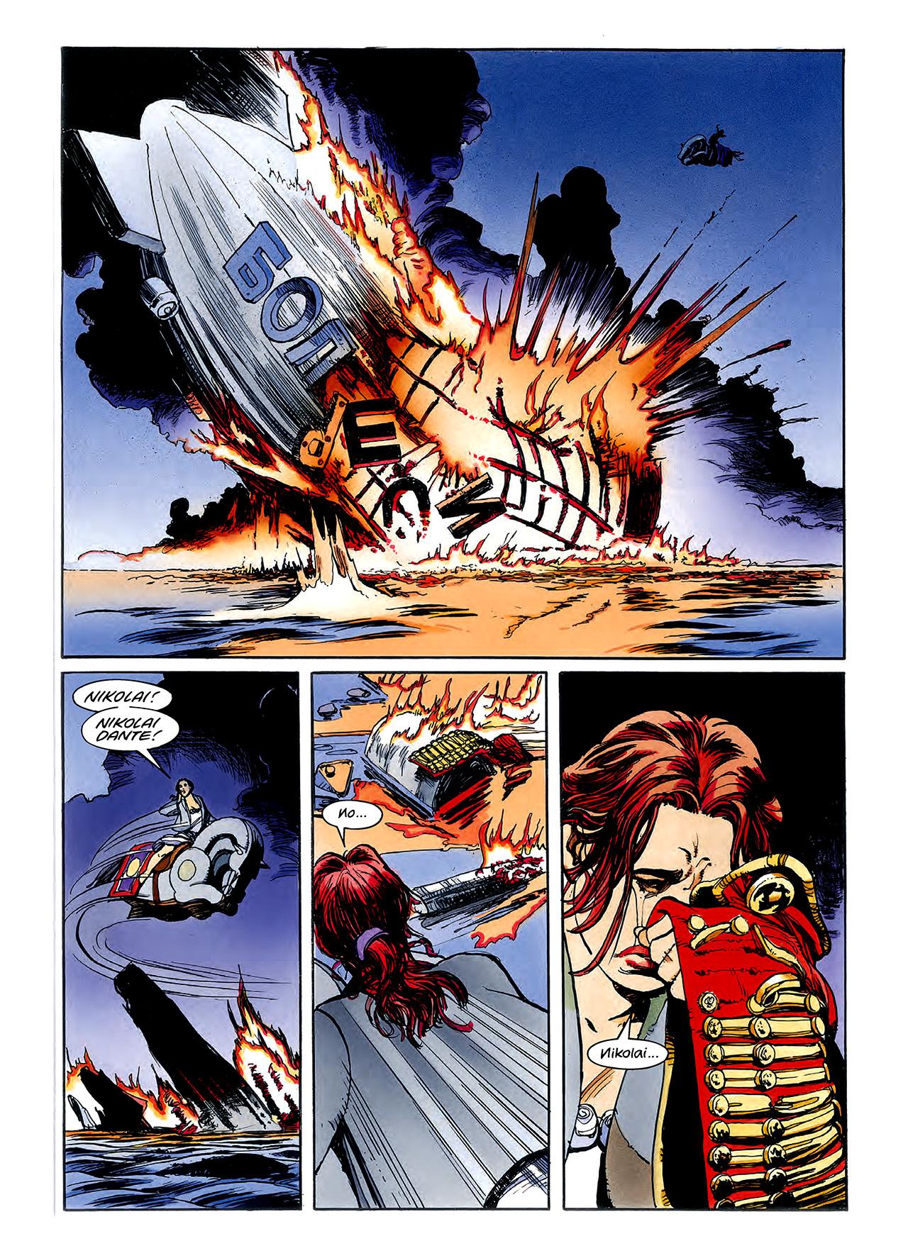 Read online Nikolai Dante comic -  Issue # TPB 3 - 124