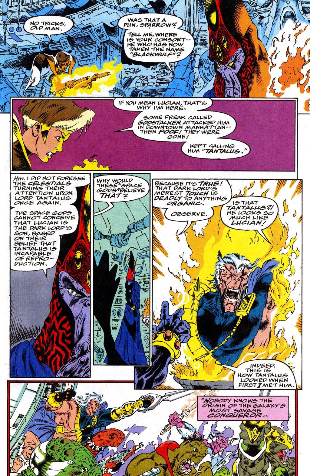Read online Blackwulf comic -  Issue #9 - 12