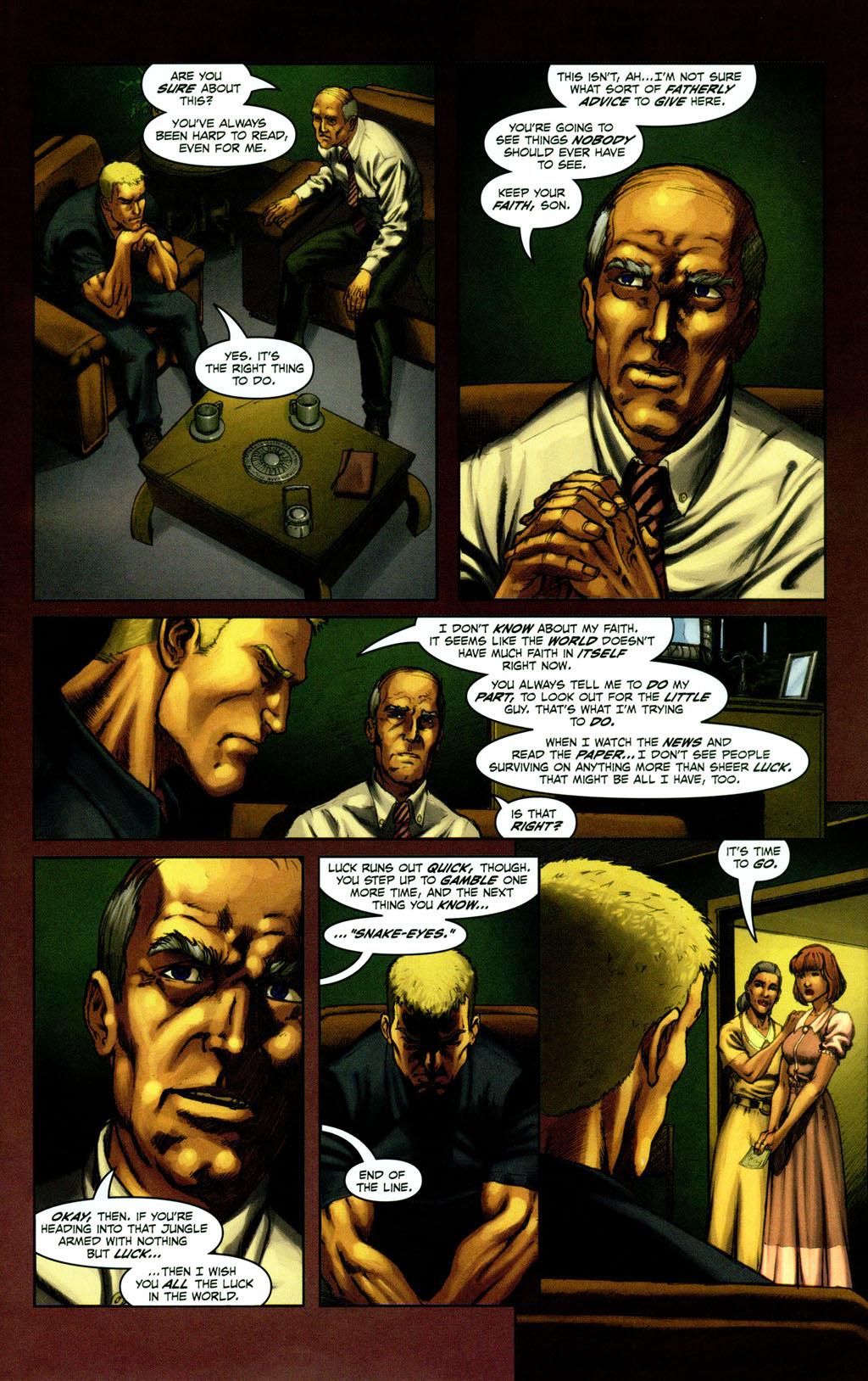 Read online Snake Eyes: Declassified comic -  Issue #1 - 5