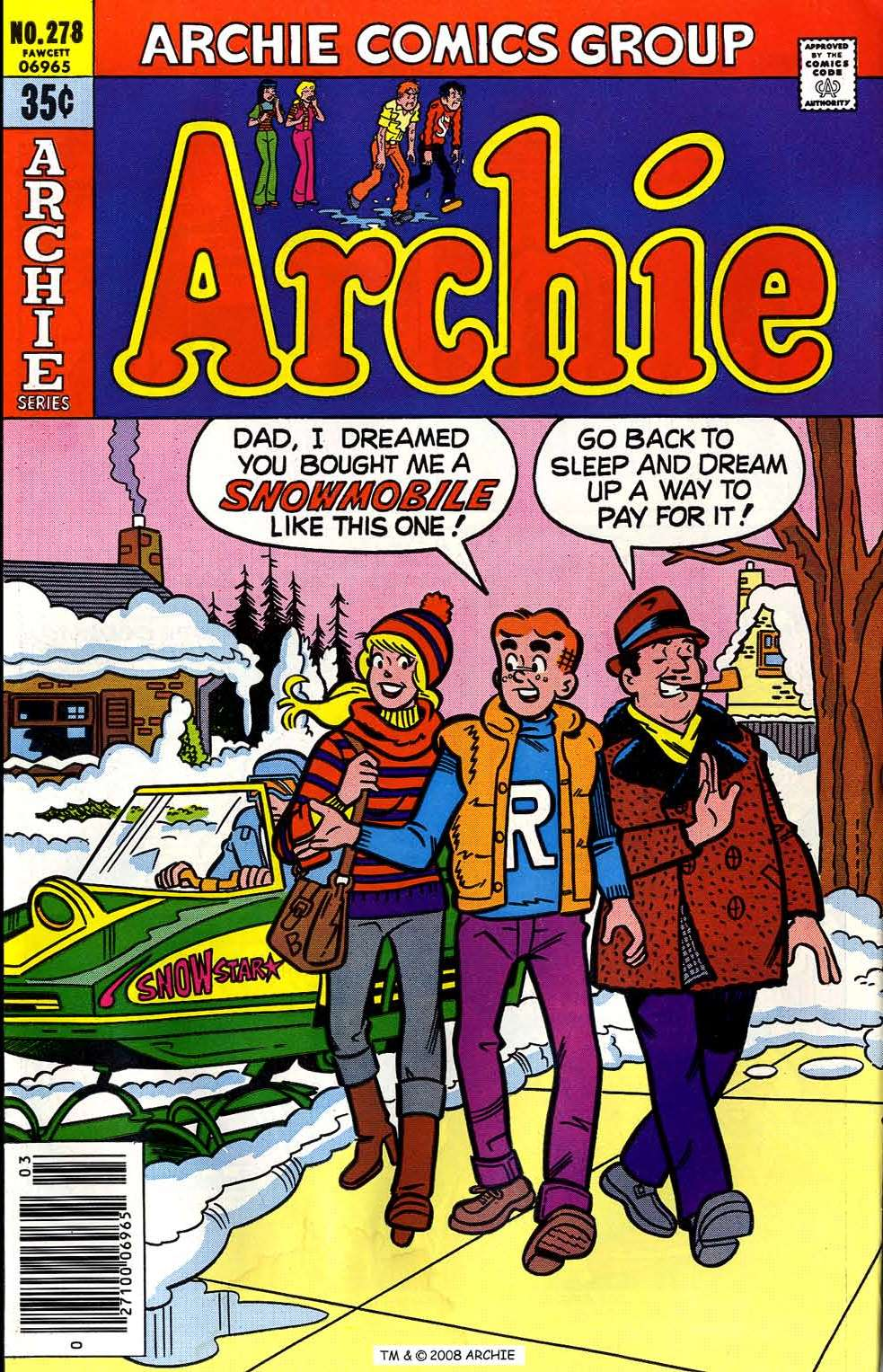 Read online Archie (1960) comic -  Issue #278 - 1