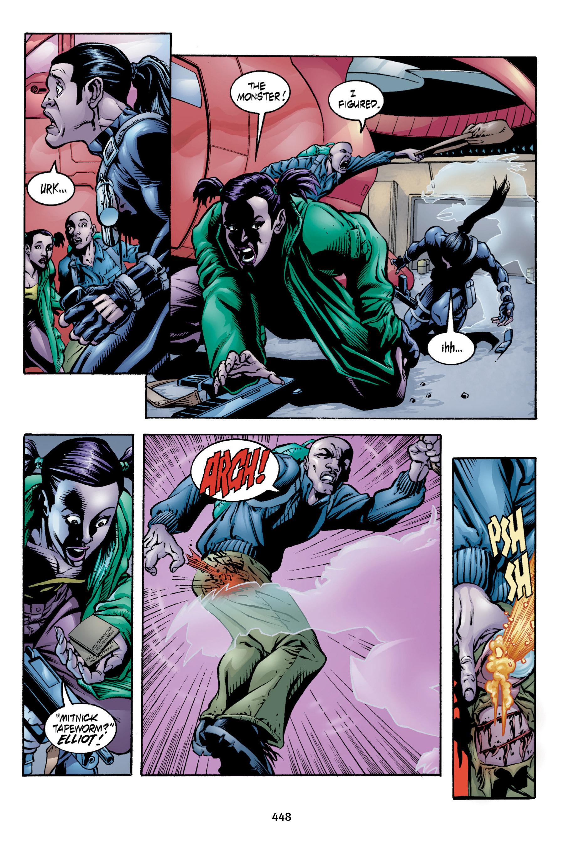 Read online Aliens vs. Predator Omnibus comic -  Issue # _TPB 2 Part 4 - 110