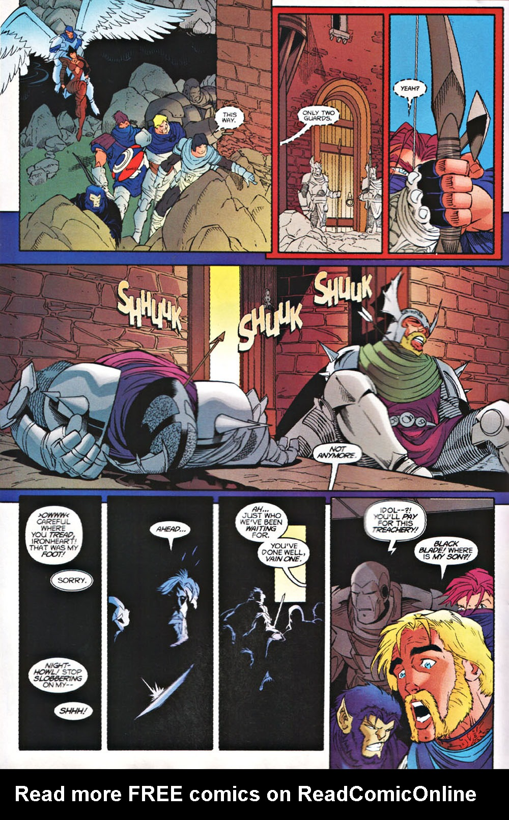 Read online Avataars: Covenant of the Shield comic -  Issue #3 - 10