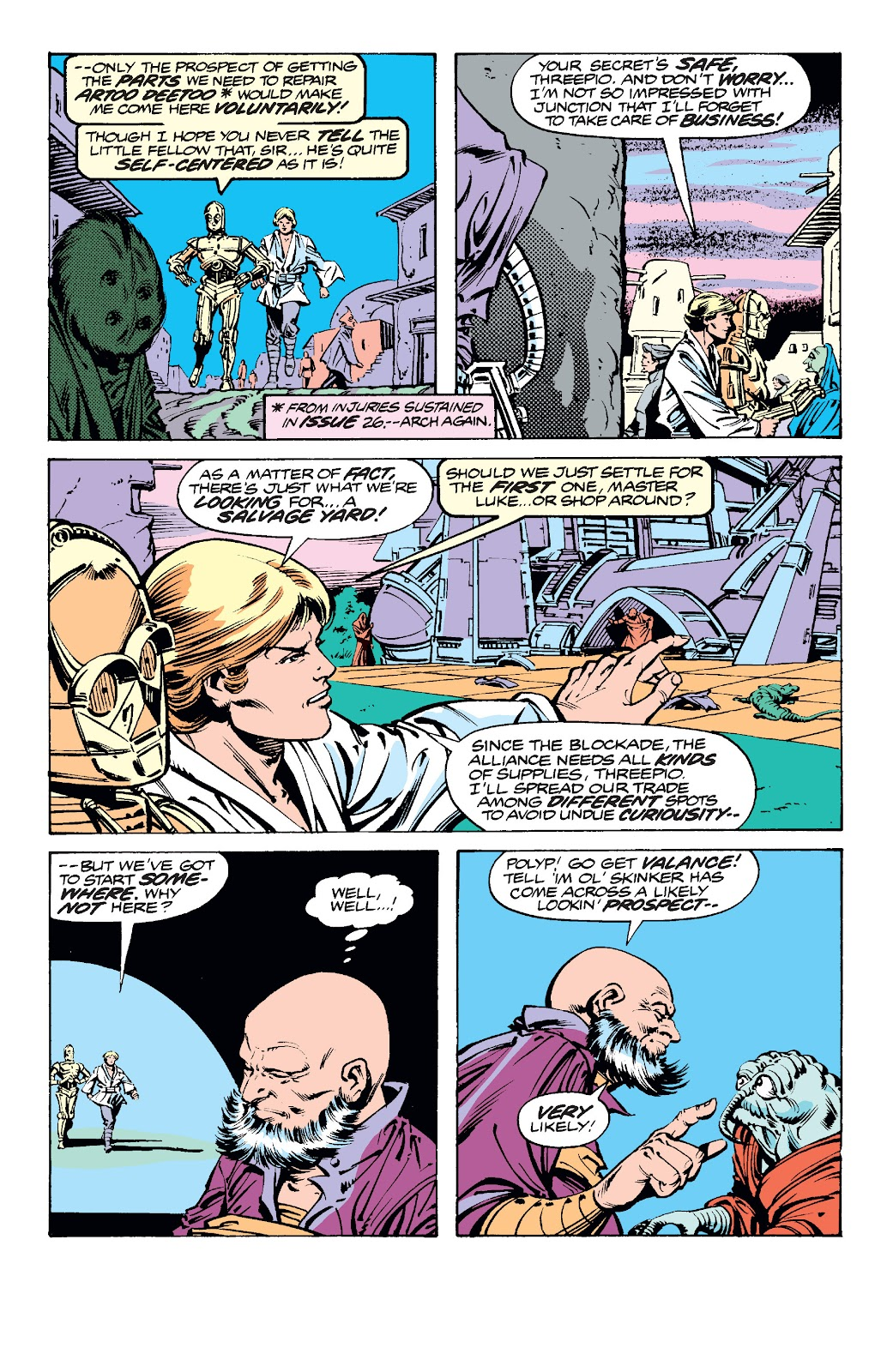 Read online Star Wars Legends: The Original Marvel Years - Epic Collection comic -  Issue # TPB 2 (Part 1) - 69
