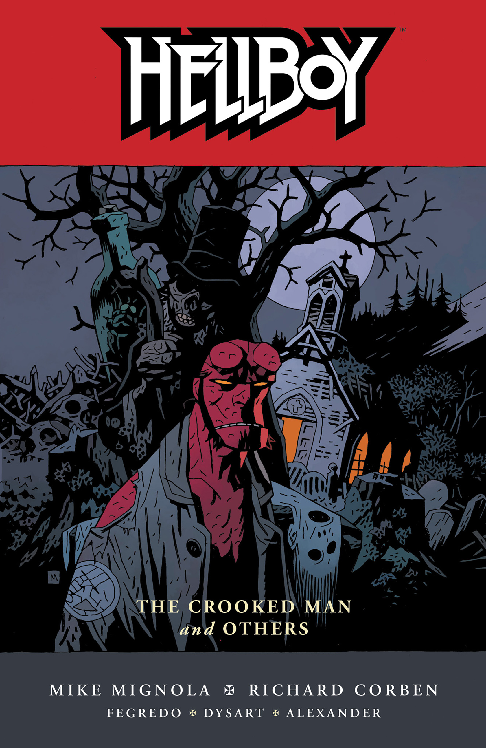 Read online Hellboy: The Crooked Man and Others comic -  Issue # TPB - 1