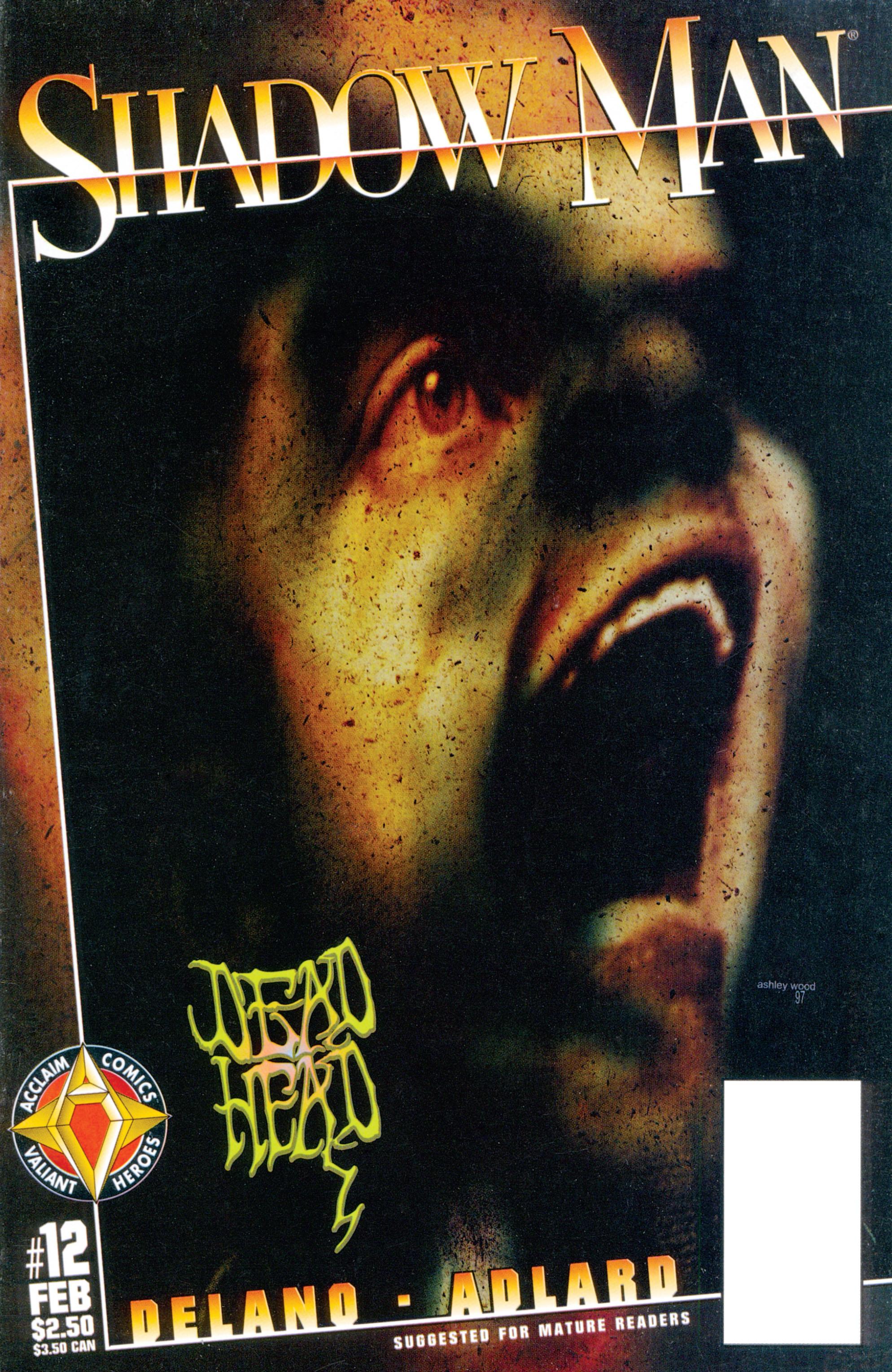 Read online Shadowman (1997) comic -  Issue #12 - 1