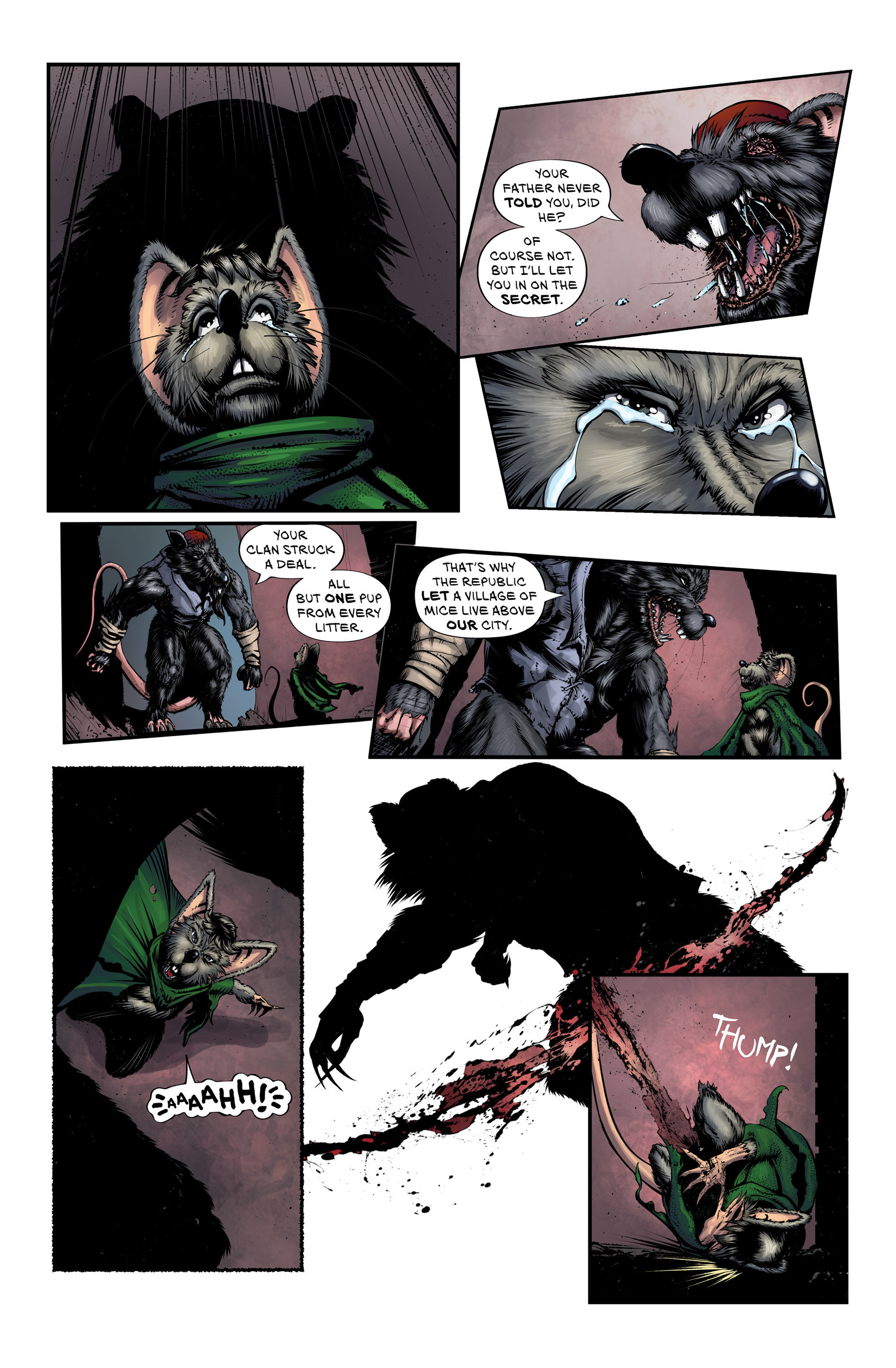 Read online Wretched Things comic -  Issue #3 - 17