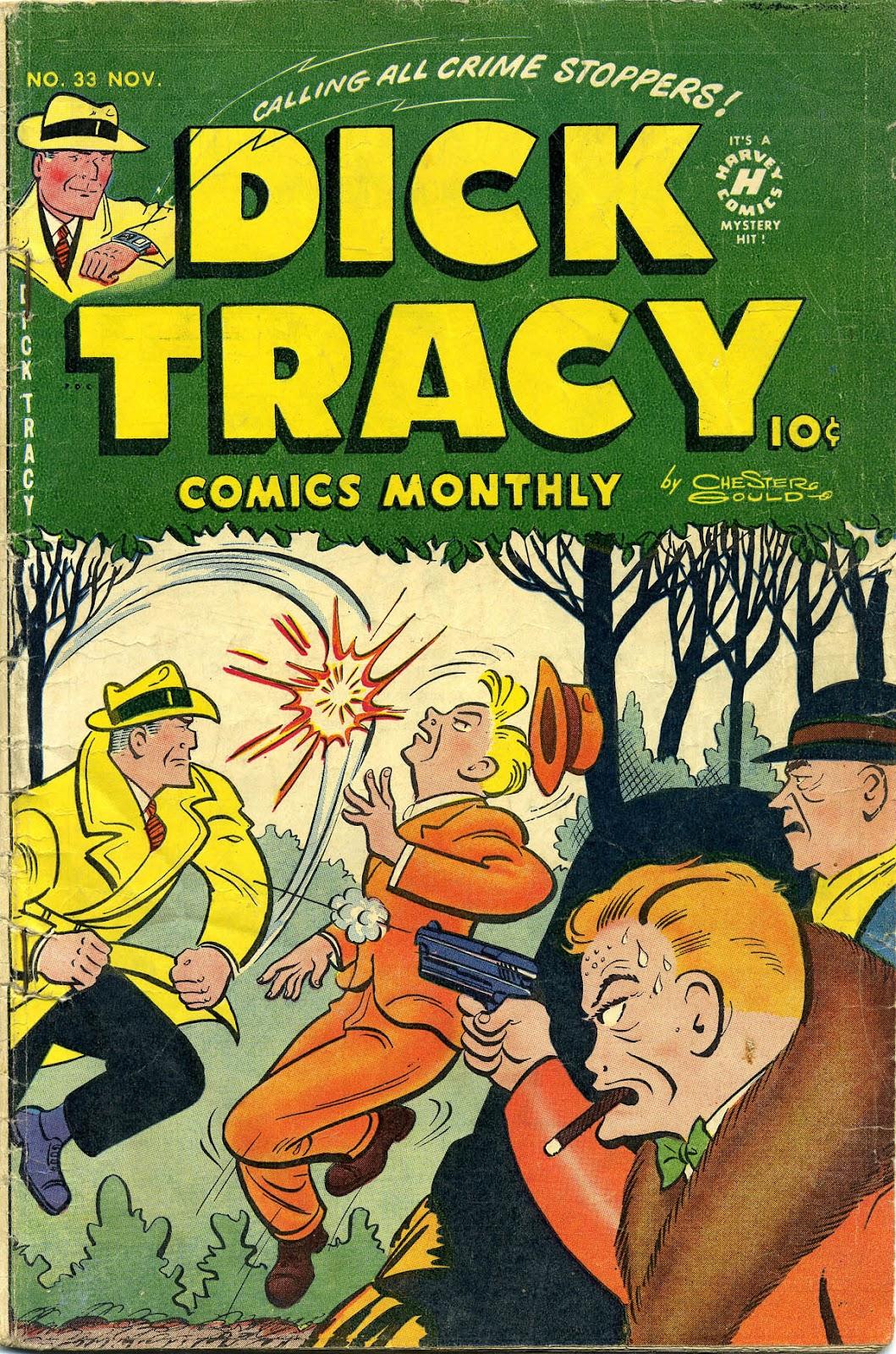 Dick Tracy (1950) 33 Page 1