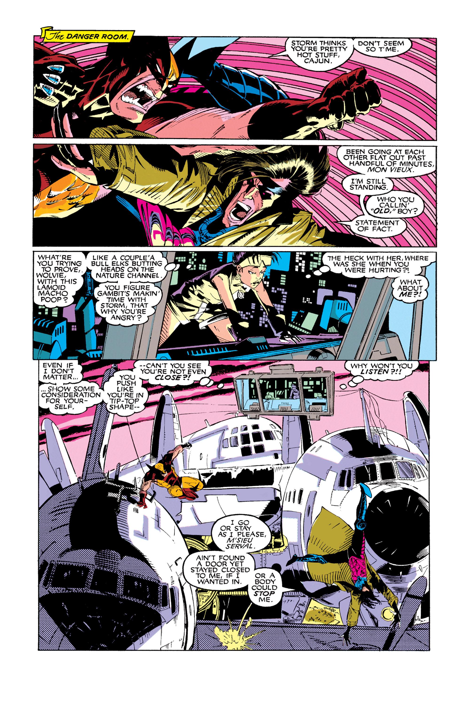 Read online Uncanny X-Men (1963) comic -  Issue #273 - 16