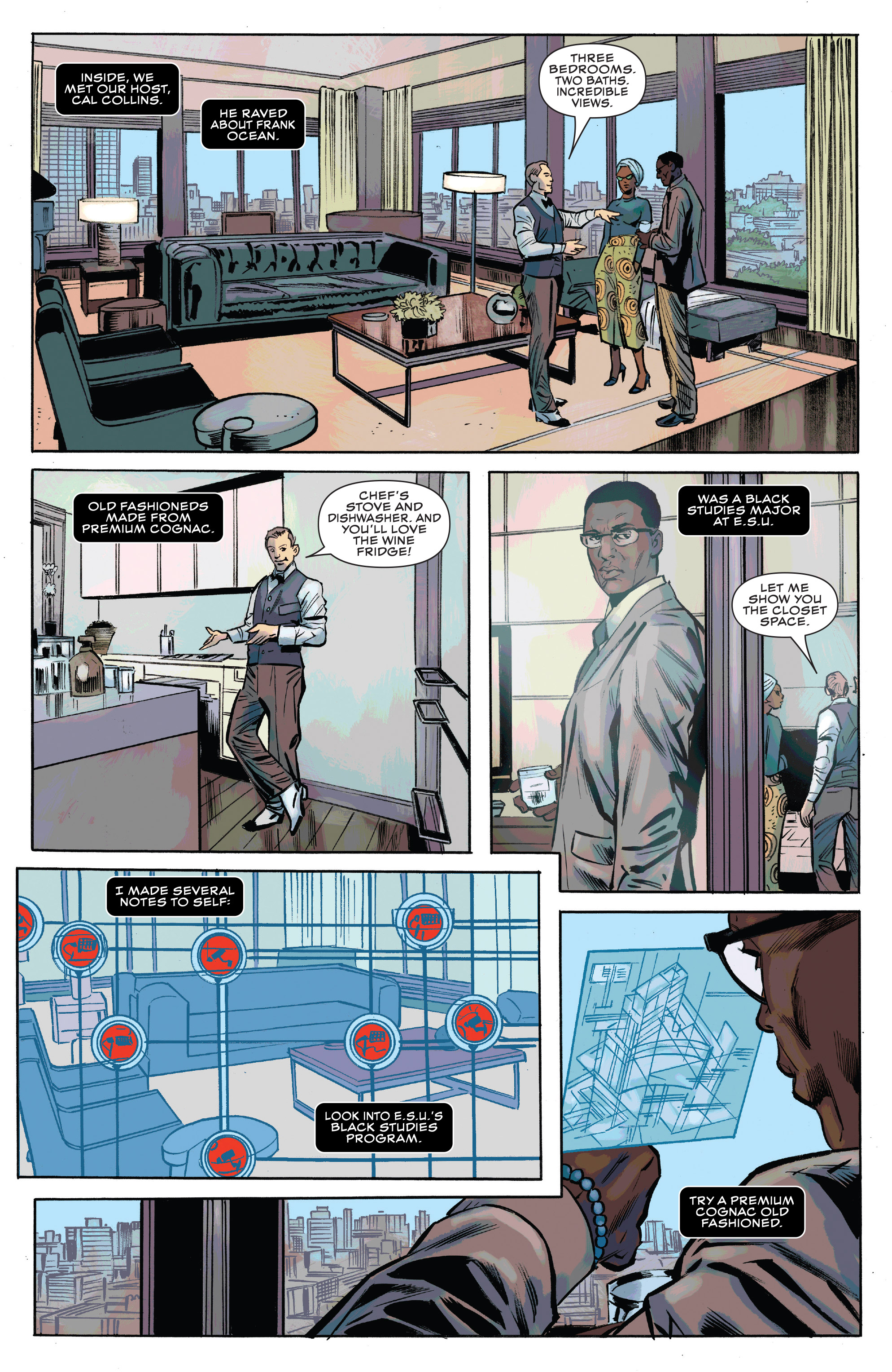 Read online Black Panther and the Crew comic -  Issue #3 - 14