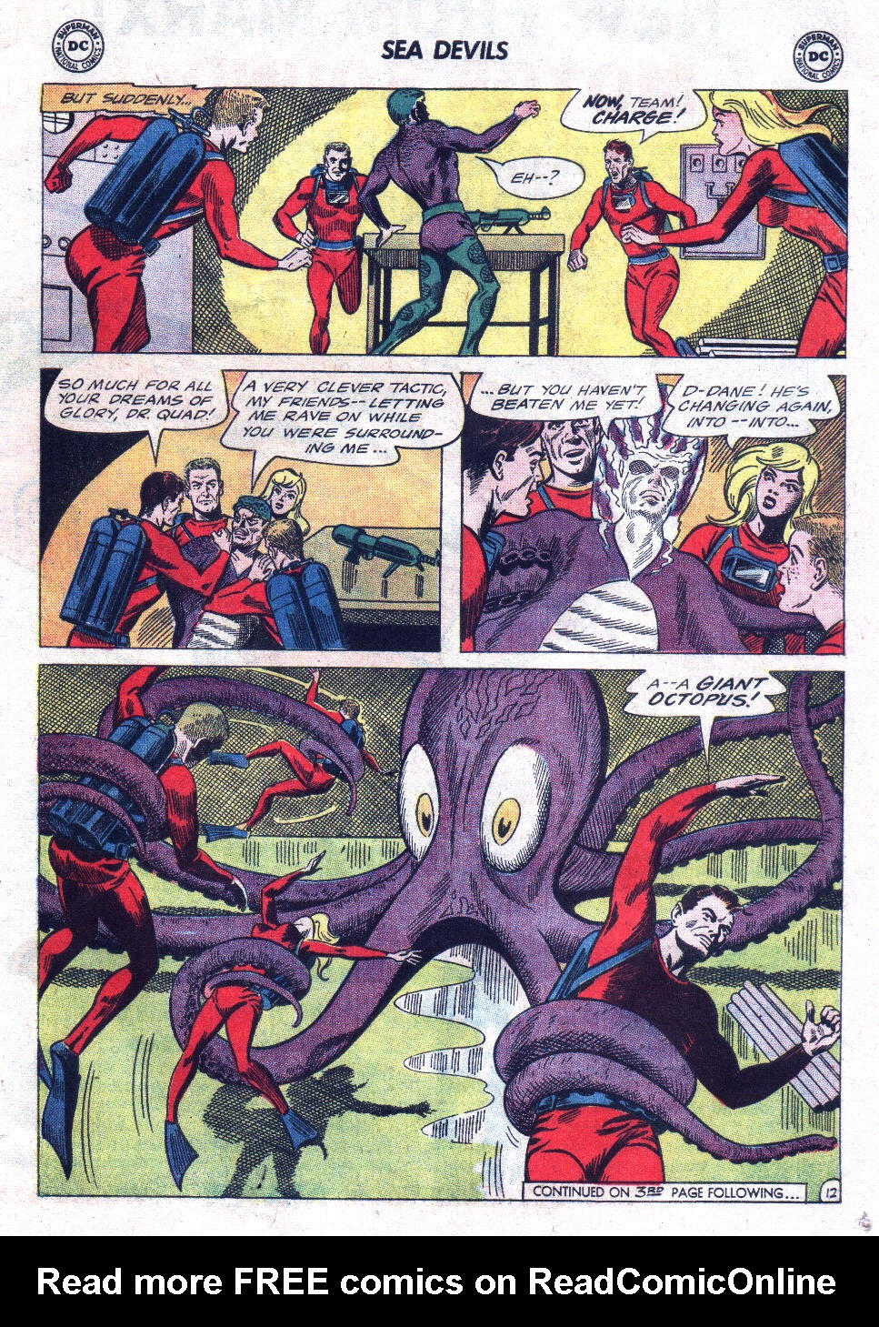 Read online Sea Devils comic -  Issue #21 - 17
