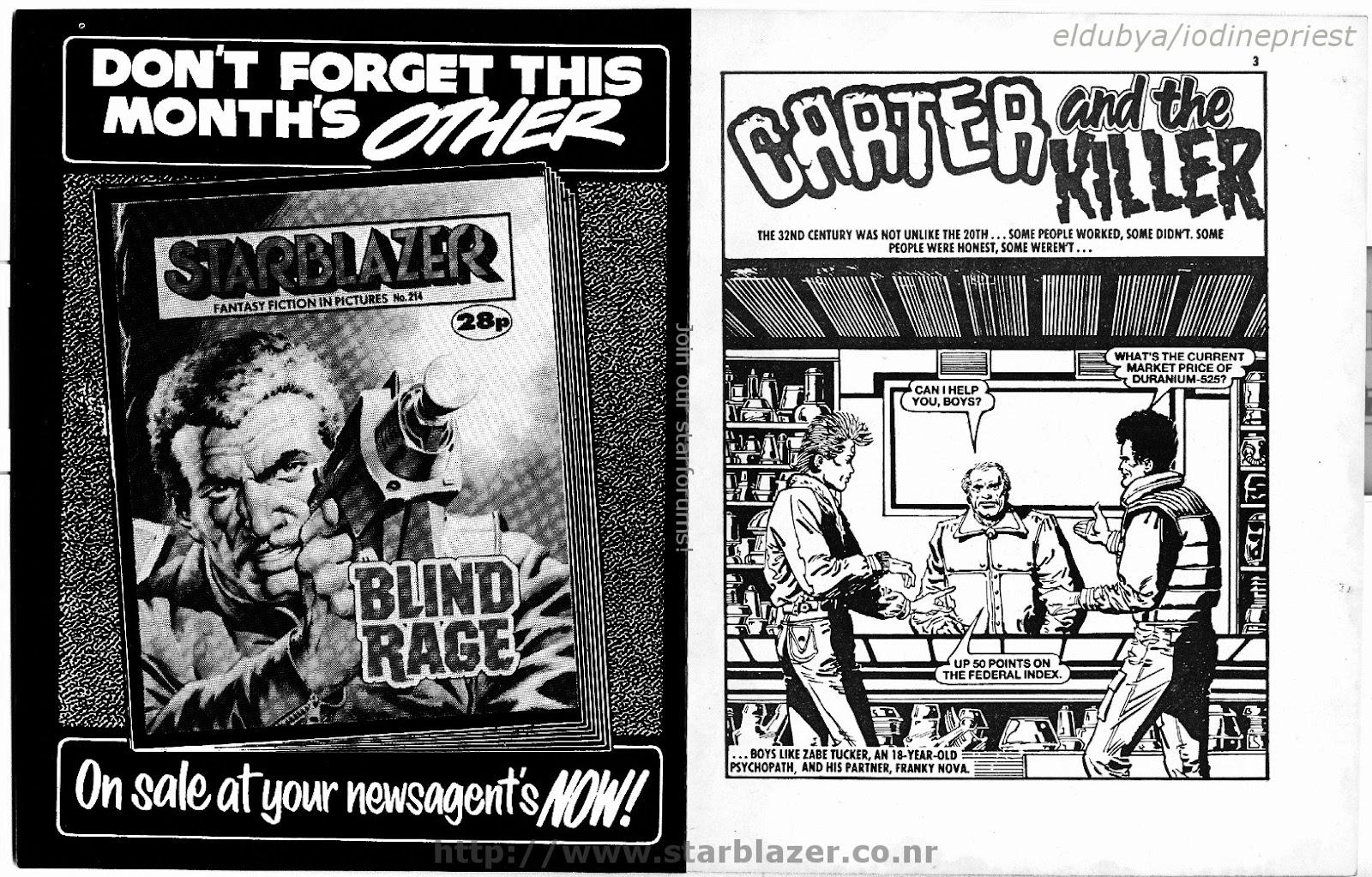 Starblazer issue 215 - Page 3