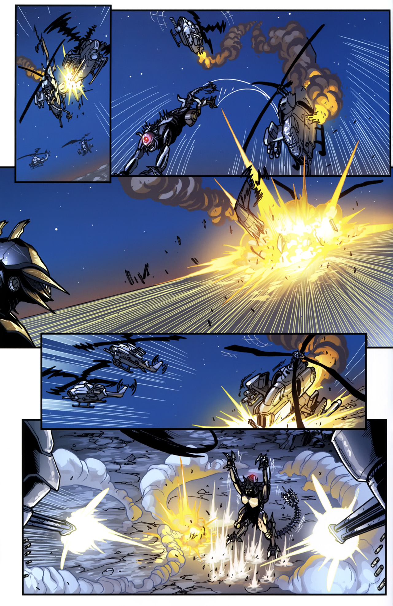Read online Transformers: Tales of The Fallen comic -  Issue #5 - 14