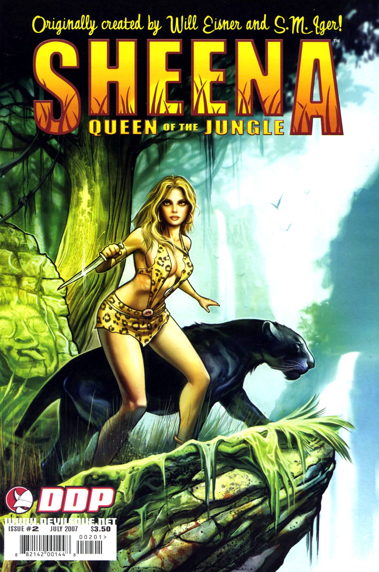 Read online Sheena, Queen of the Jungle comic -  Issue #2 - 1