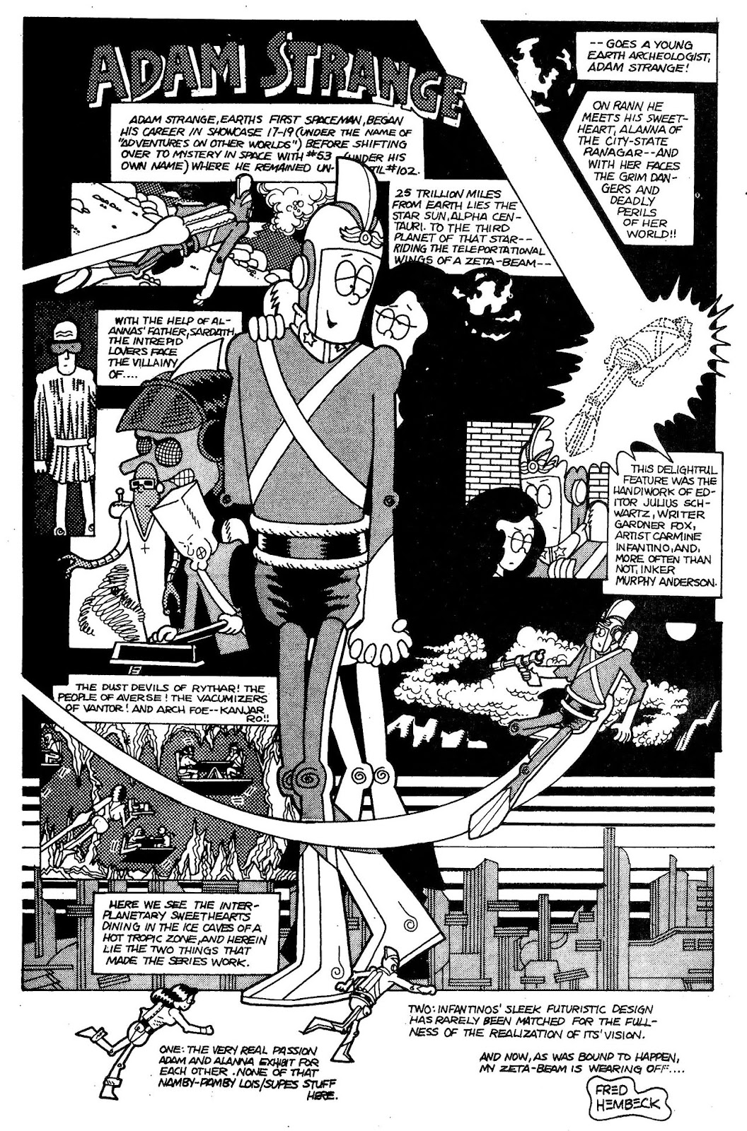 Read online The Nearly Complete Essential Hembeck Archives Omnibus comic -  Issue # TPB (Part 1) - 91
