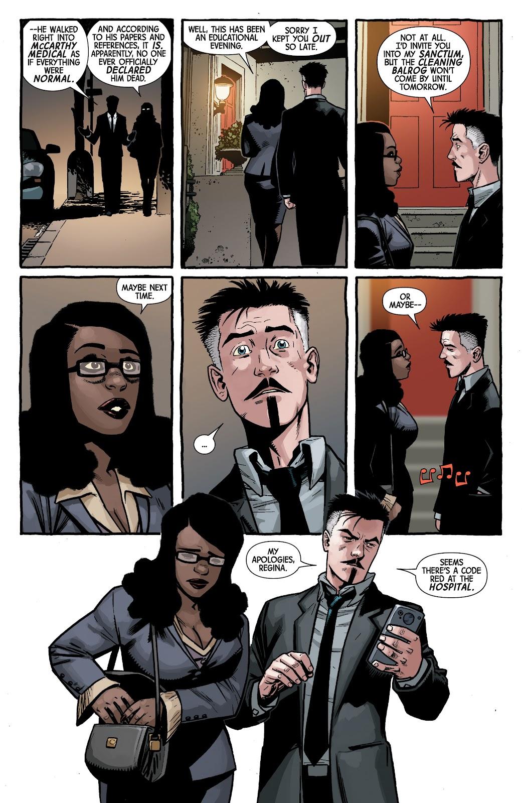 Read online Dr. Strange comic -  Issue #4 - 11