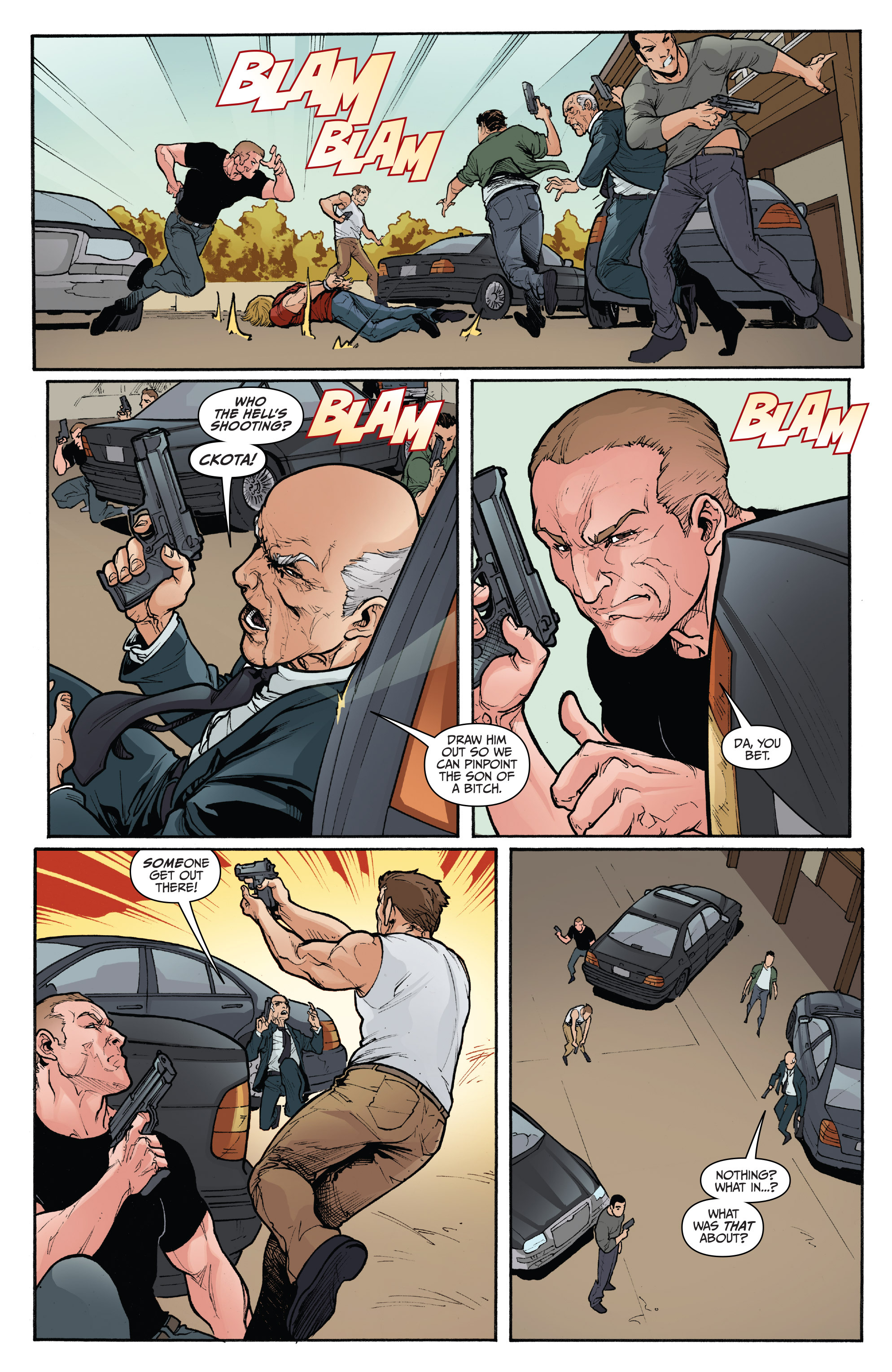 Read online 3 Guns comic -  Issue #5 - 4