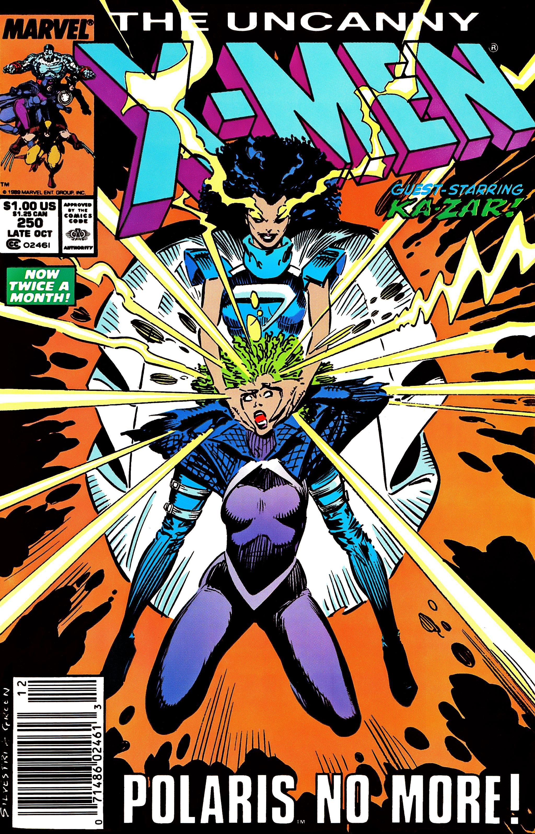 Uncanny X-Men (1963) 250 Page 1