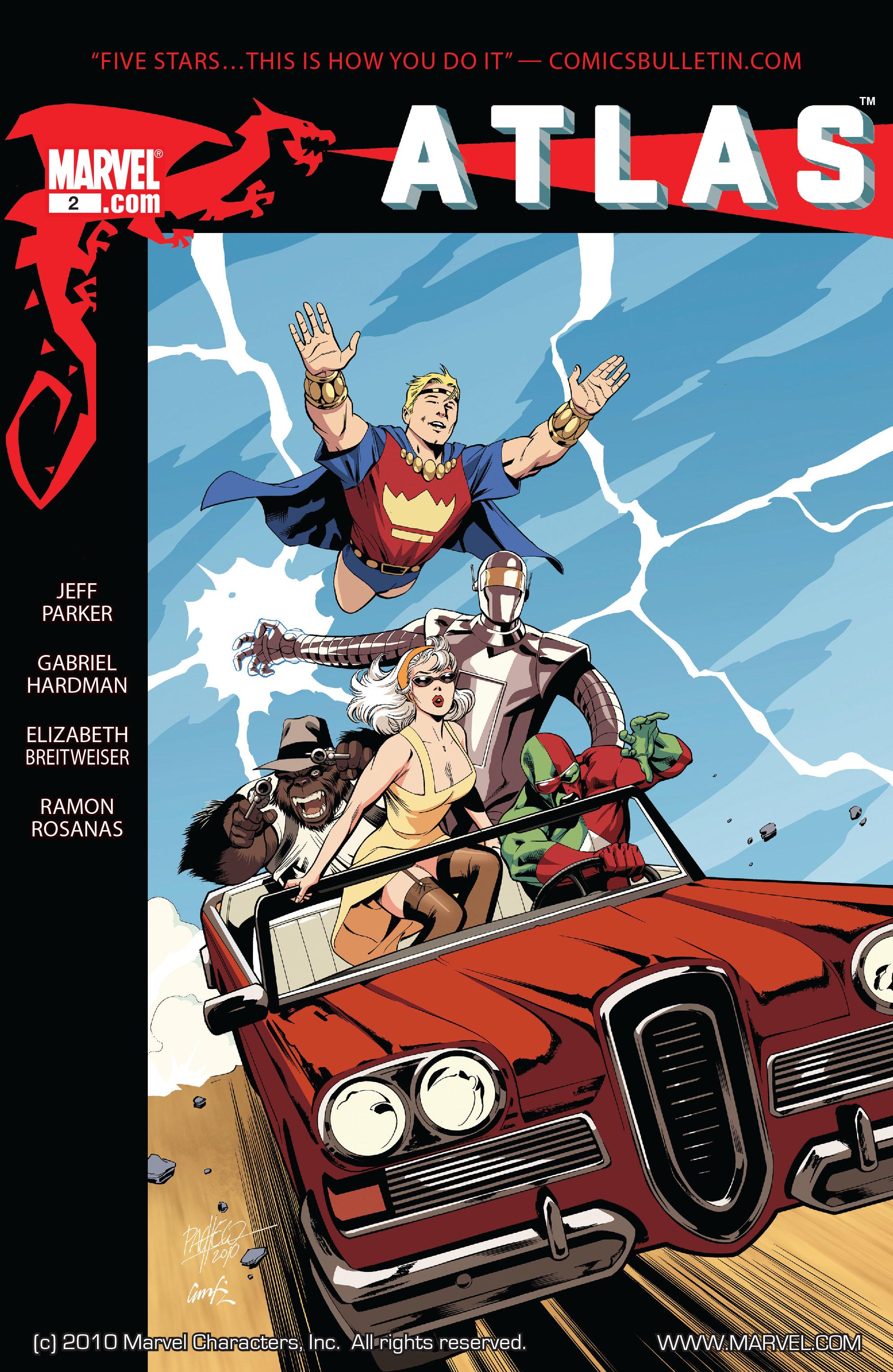 Read online Atlas comic -  Issue #2 - 1