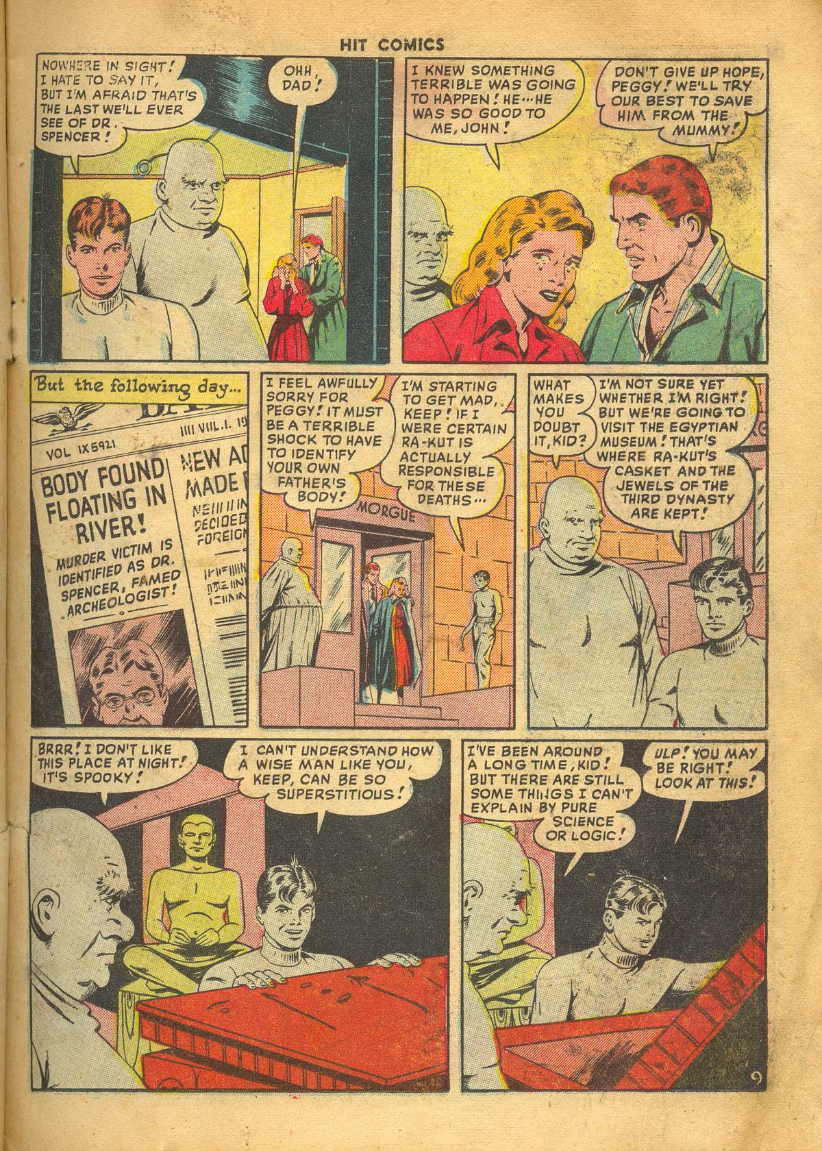 Read online Hit Comics comic -  Issue #60 - 11