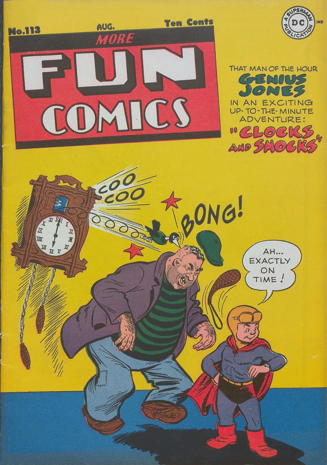 More Fun Comics 113 Page 1