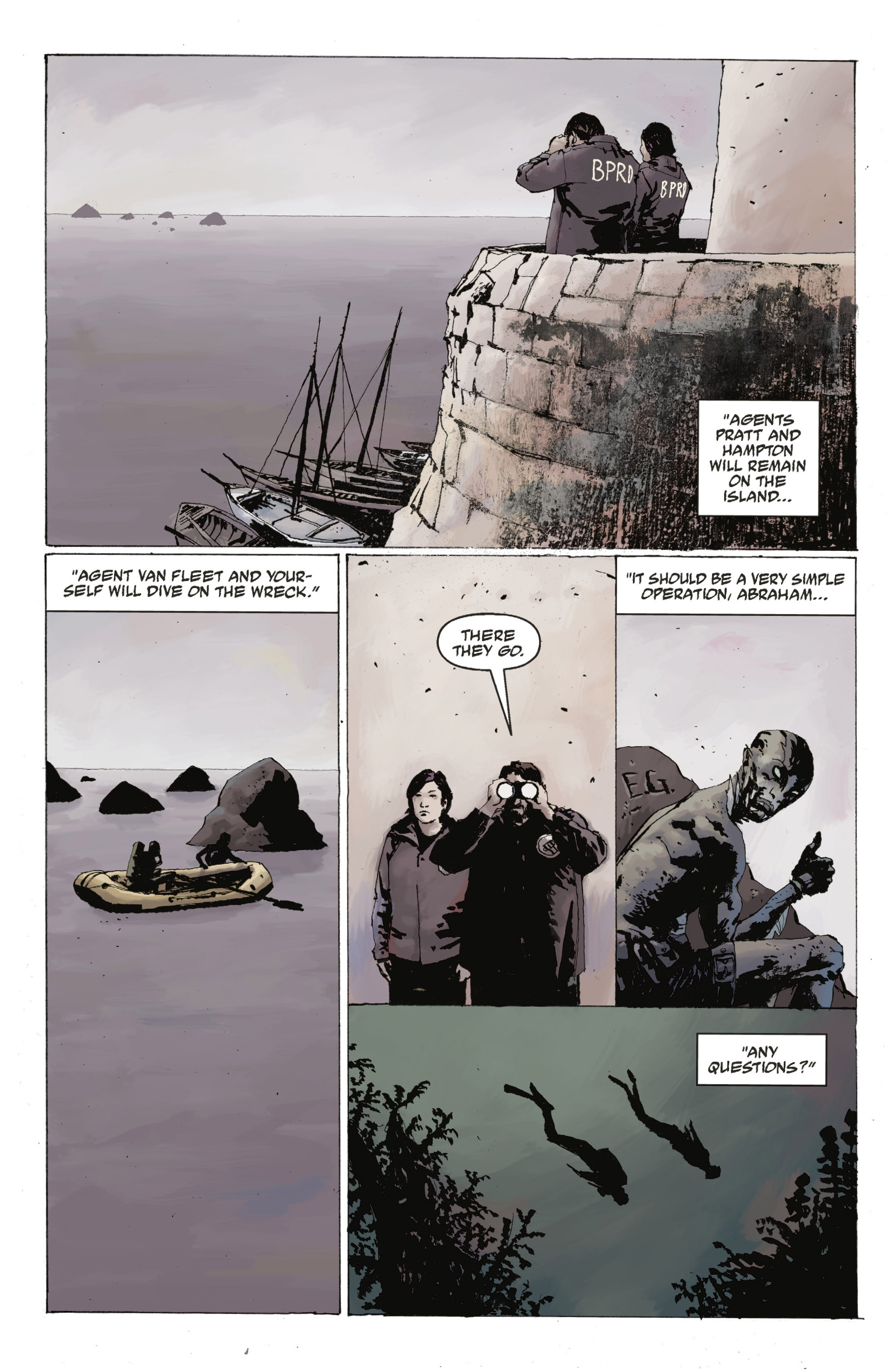 Read online Abe Sapien: The Drowning comic -  Issue #Abe Sapien: The Drowning _TPB - 27