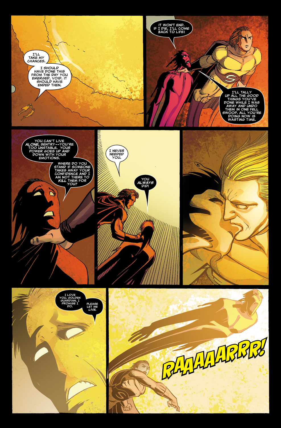Read online Sentry (2006) comic -  Issue #8 - 22
