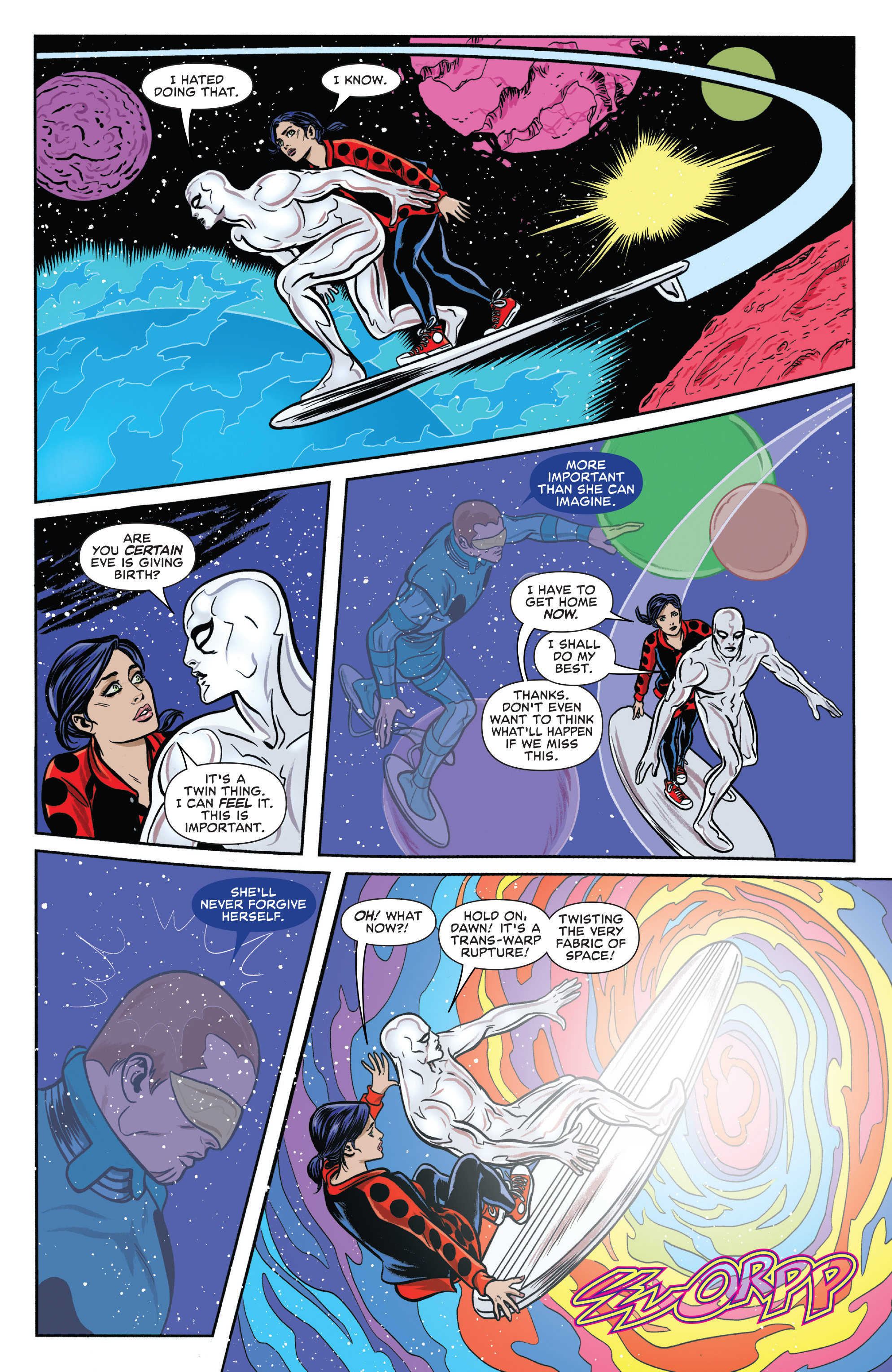Read online Silver Surfer (2016) comic -  Issue #11 - 10