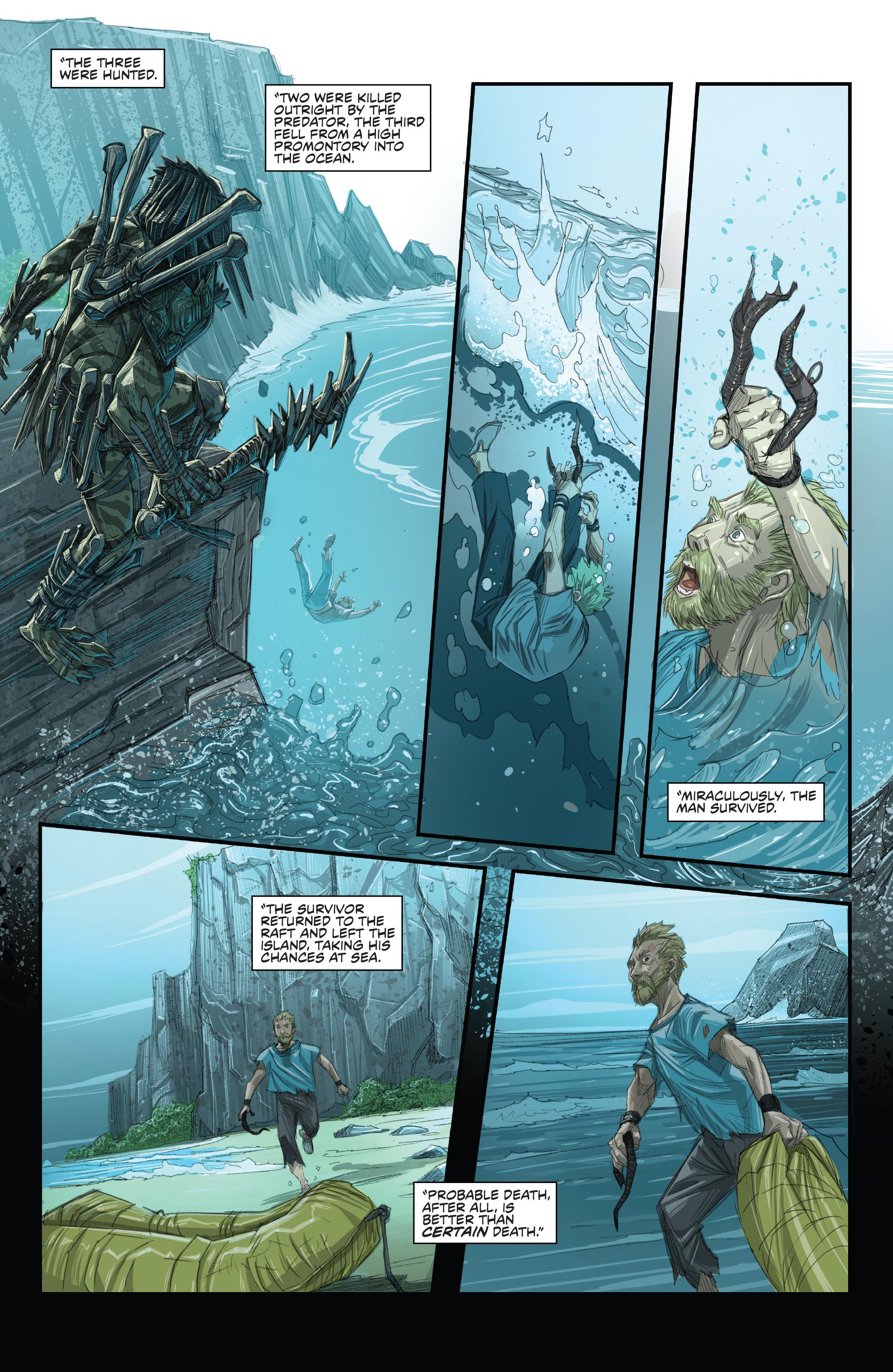 Read online Predator: Hunters comic -  Issue #2 - 12