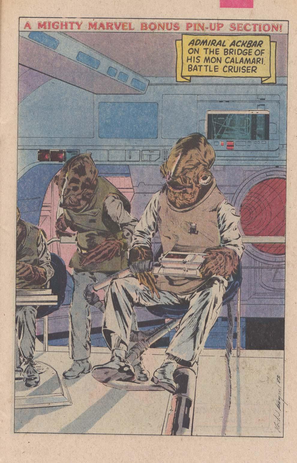 Read online Star Wars: Return of the Jedi comic -  Issue #4 - 21