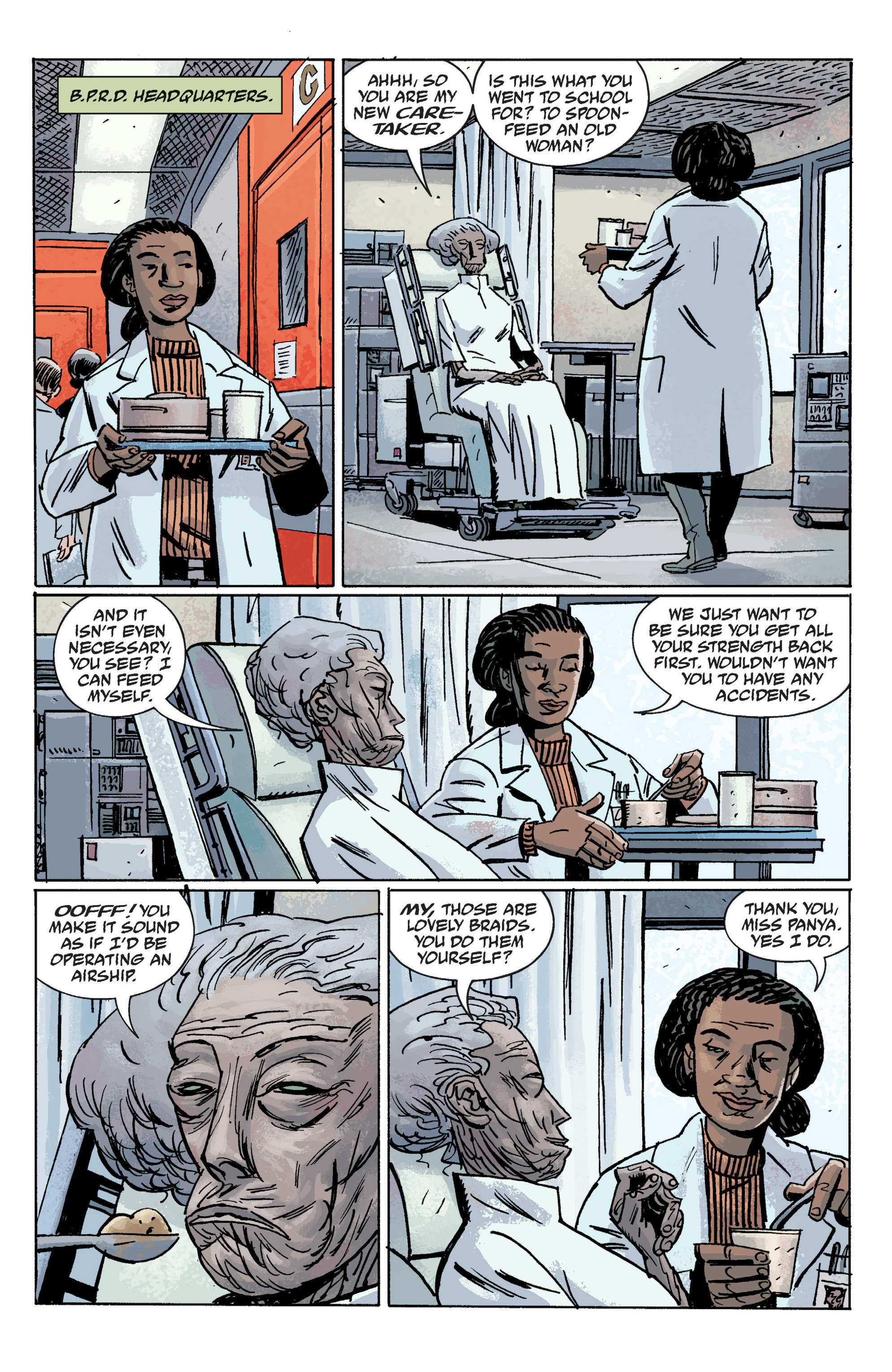 Read online B.P.R.D. (2003) comic -  Issue # TPB 10 - 75
