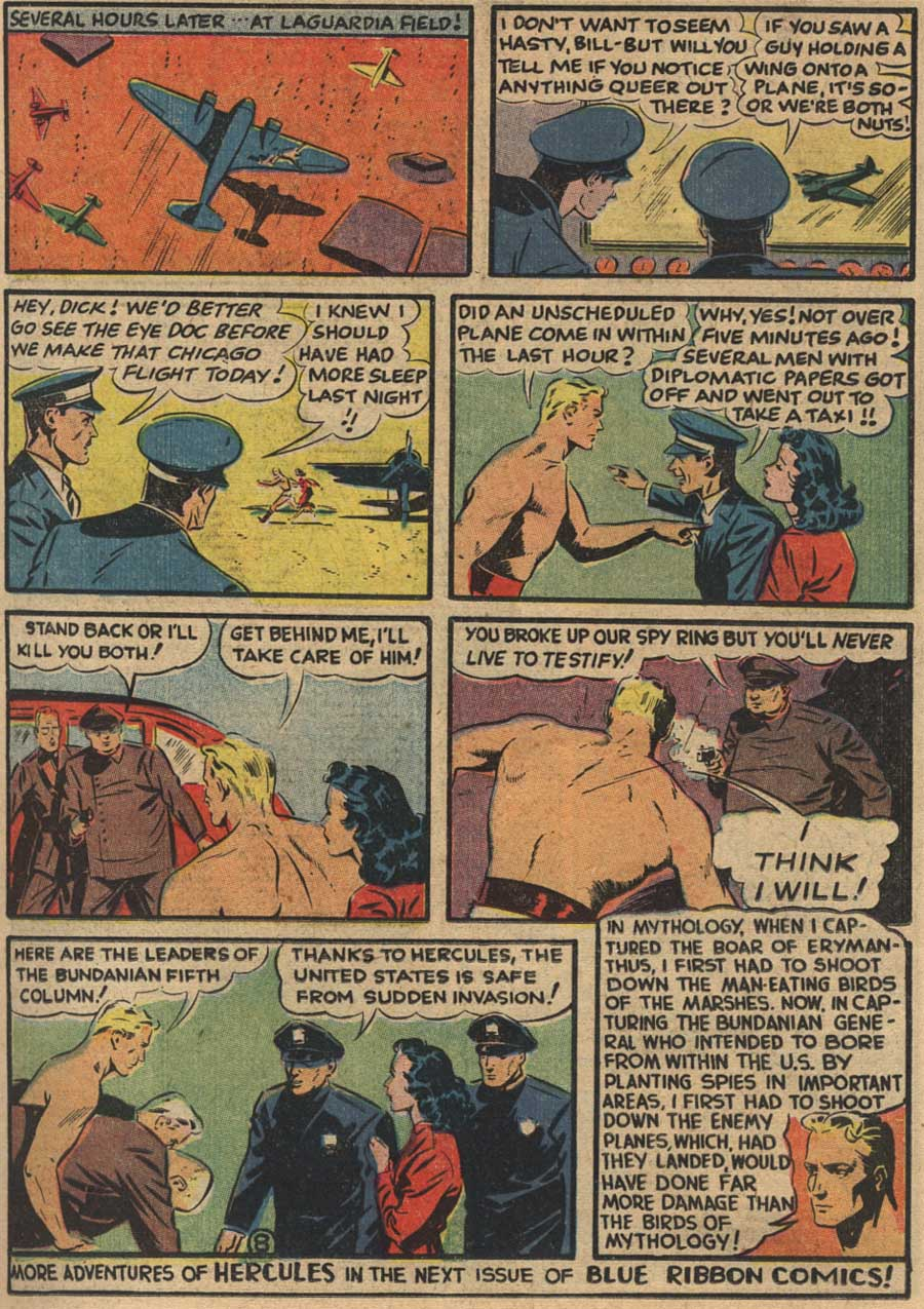 Blue Ribbon Comics (1939) issue 7 - Page 23