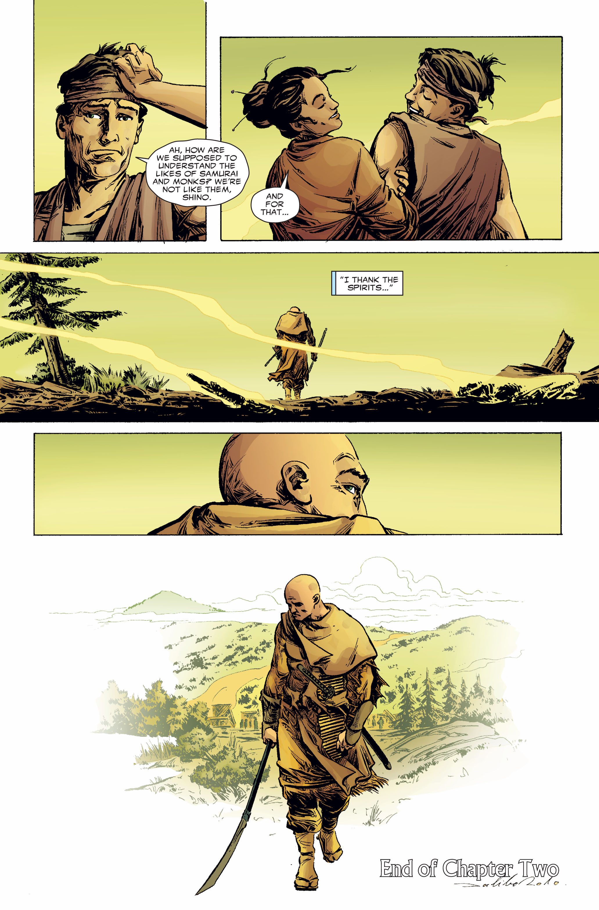 Read online 5 Ronin (2011) comic -  Issue #2 - 23
